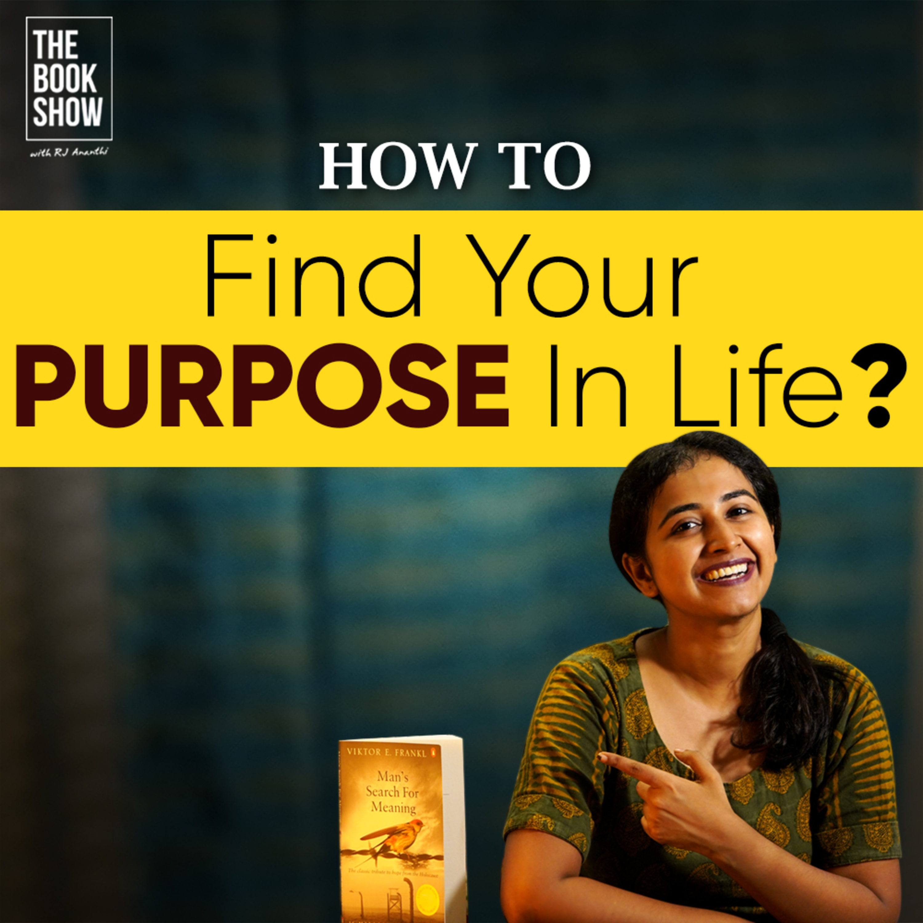 Find Your Purpose In Life   Bookmark ft. RJ Ananthi   The Book Show