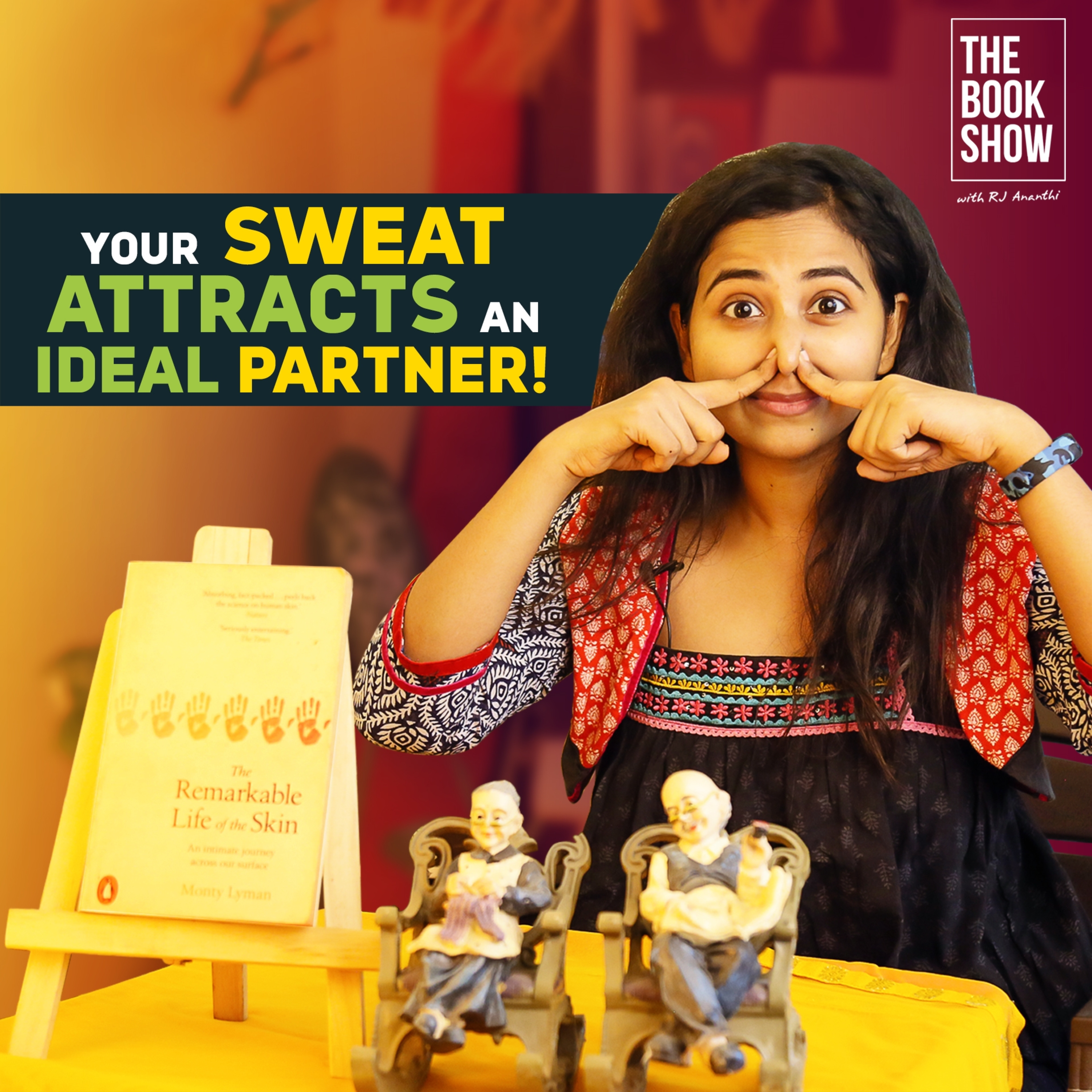 Your Sweat Attracts An Ideal Partner   Bookmark ft. RJ Ananthi   The Book Show
