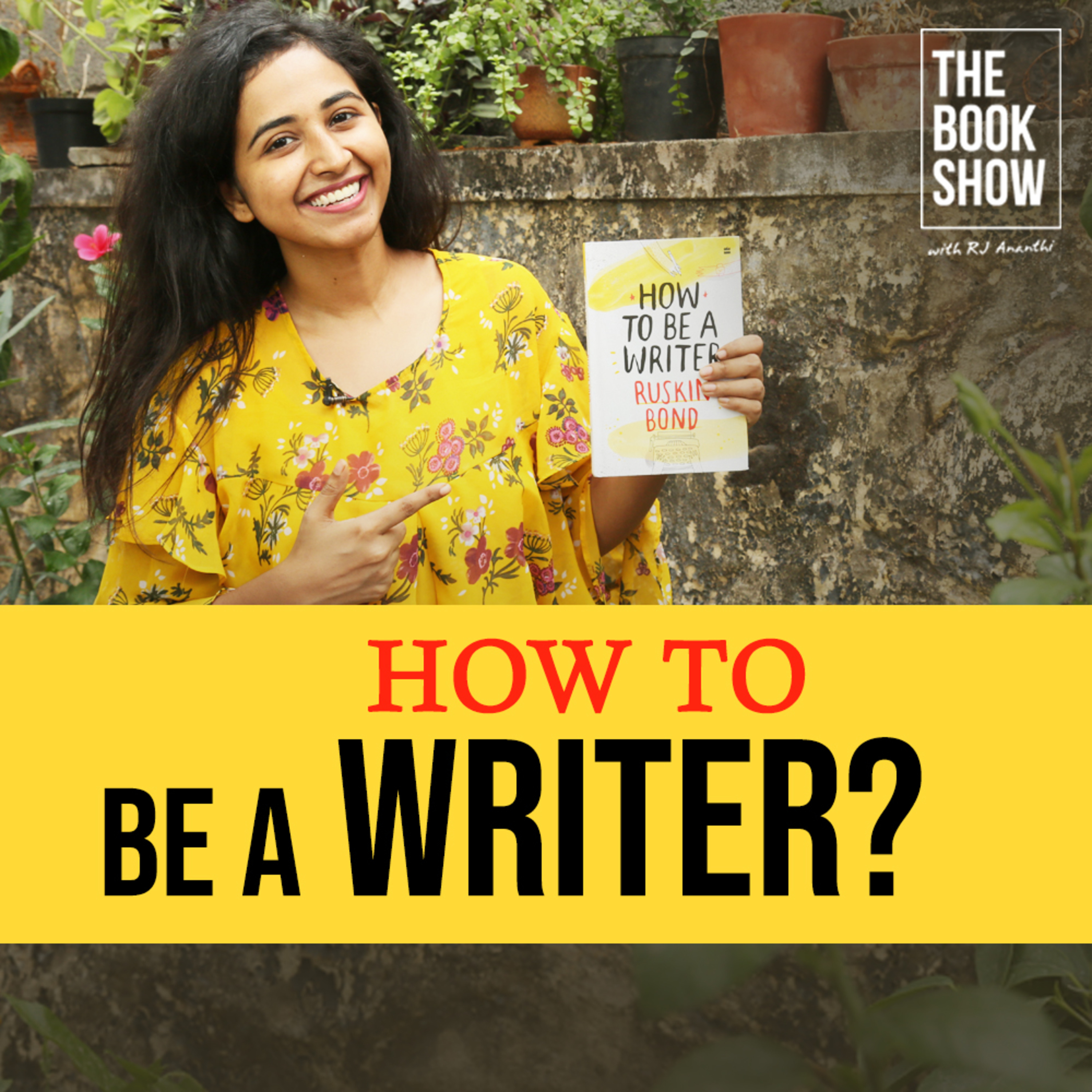 How To Be A Writer? By Ruskin Bond   The Book Show ft. RJ Ananthi