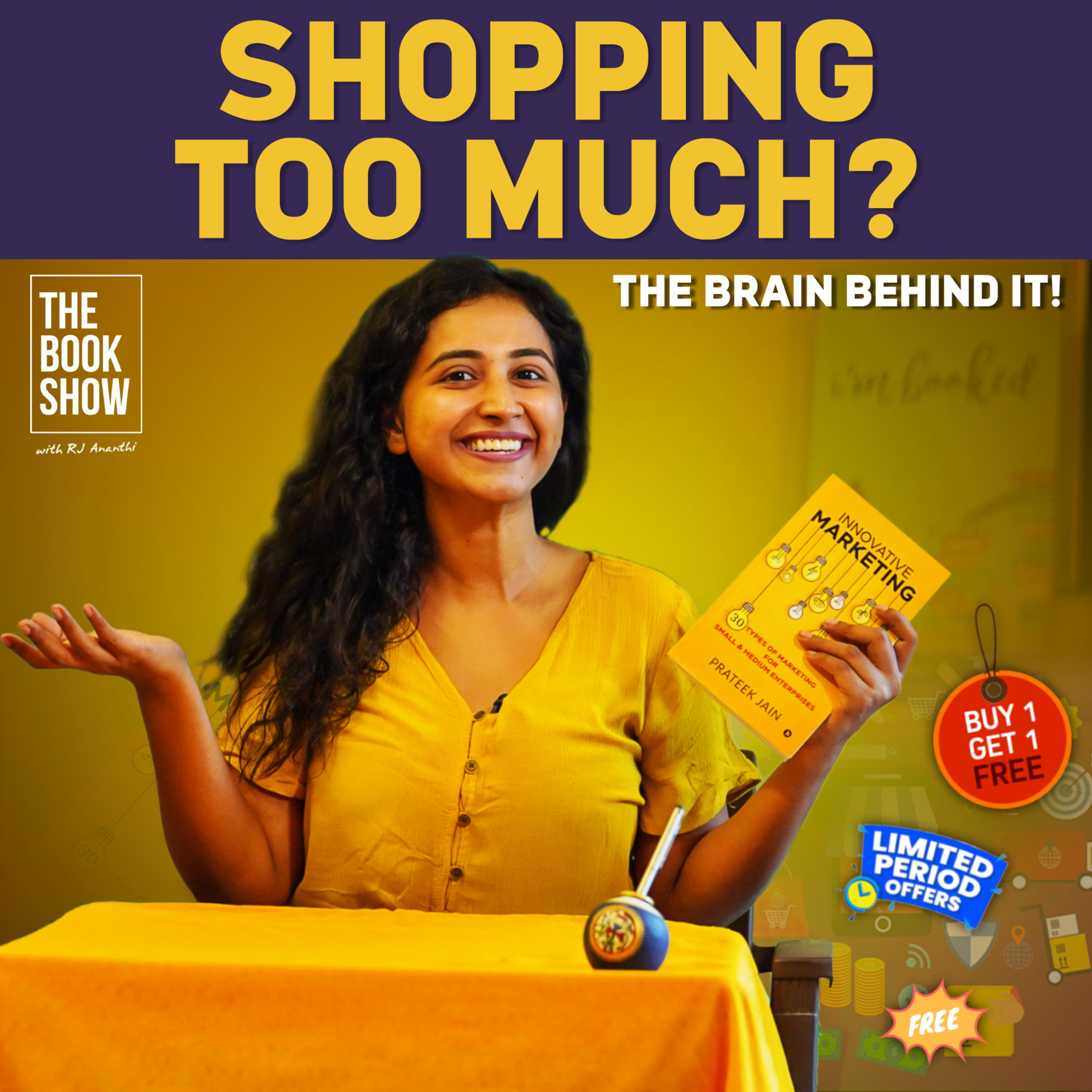 The Brain Behind Shopping Too Much   Bookmark ft. RJ Ananthi   The Book Show