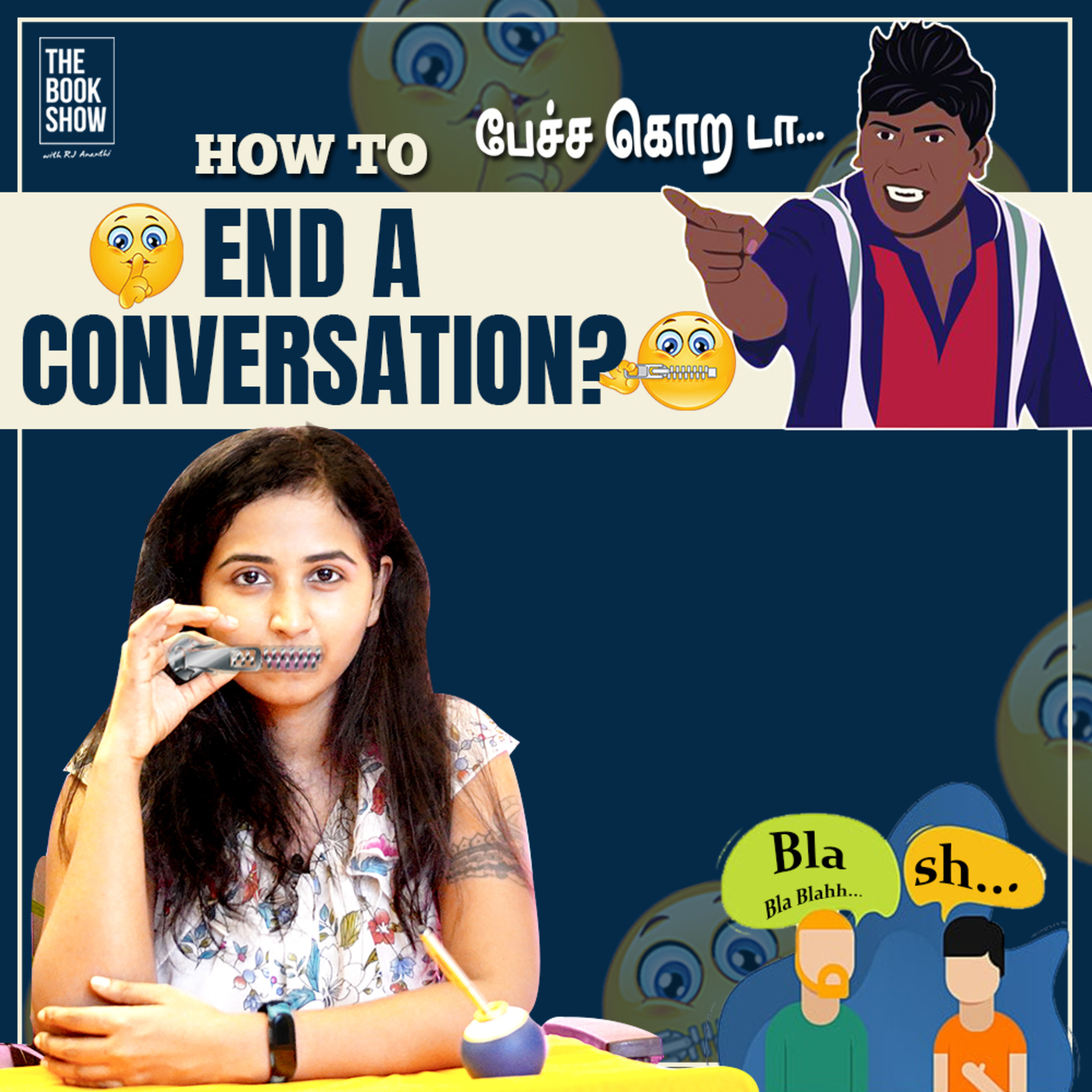 How and When To End A Conversation   Bookmark ft. RJ Ananthi   The Book Show