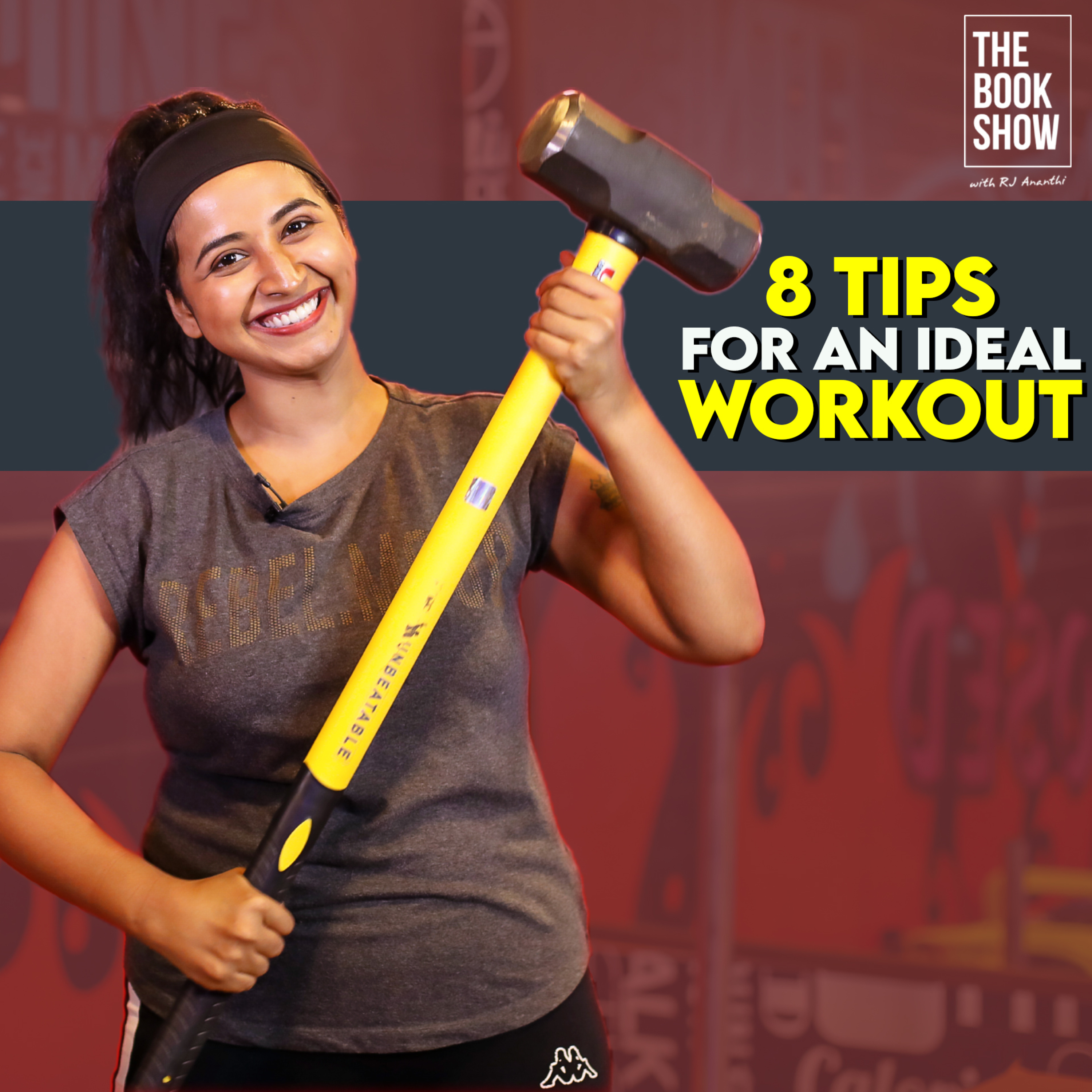 8 Tips For an Ideal Workout   The Book Show ft. RJ Ananthi   Book Review