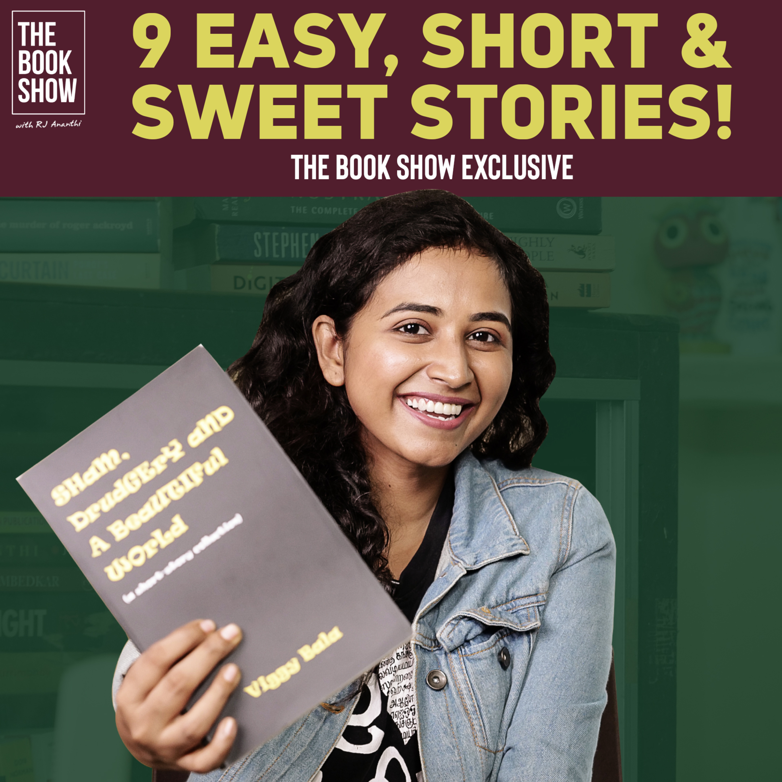 9 Easy, Short & Sweet Stories   The Book show ft. RJ Ananthi   Book Review