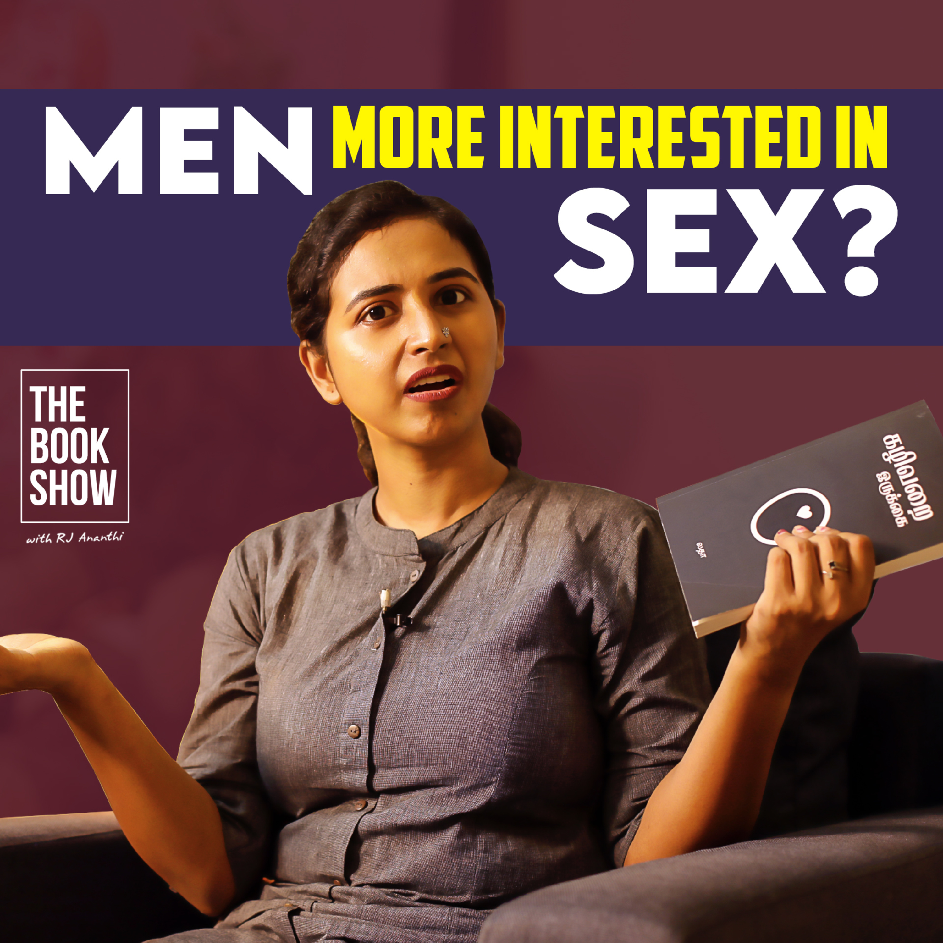Men More Interested In Sex?   Toilet Seat By Latha   The Book Show ft.RJ Ananthi