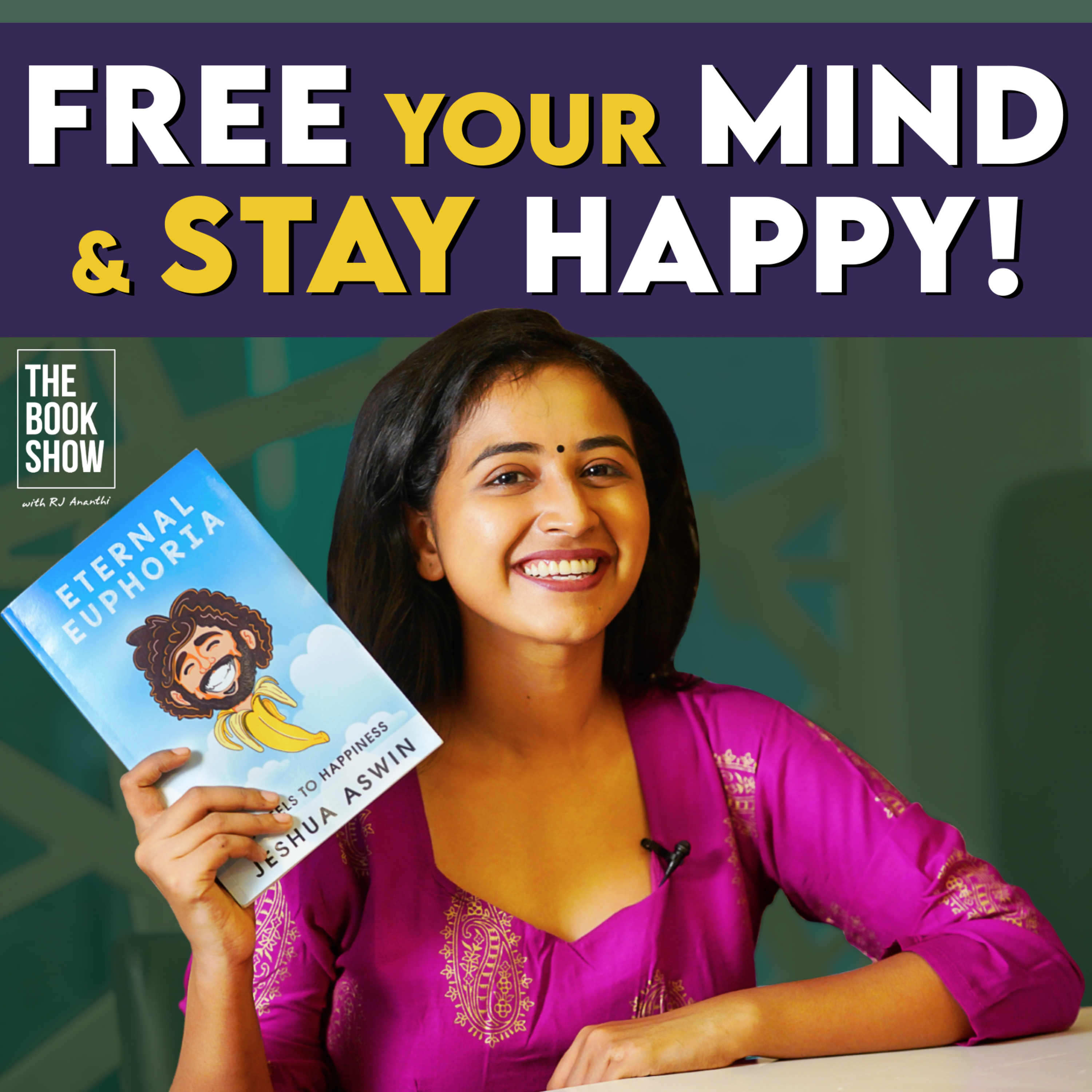 Can You Be Happy Always?   The Book Show ft. RJ Ananthi   Book Review
