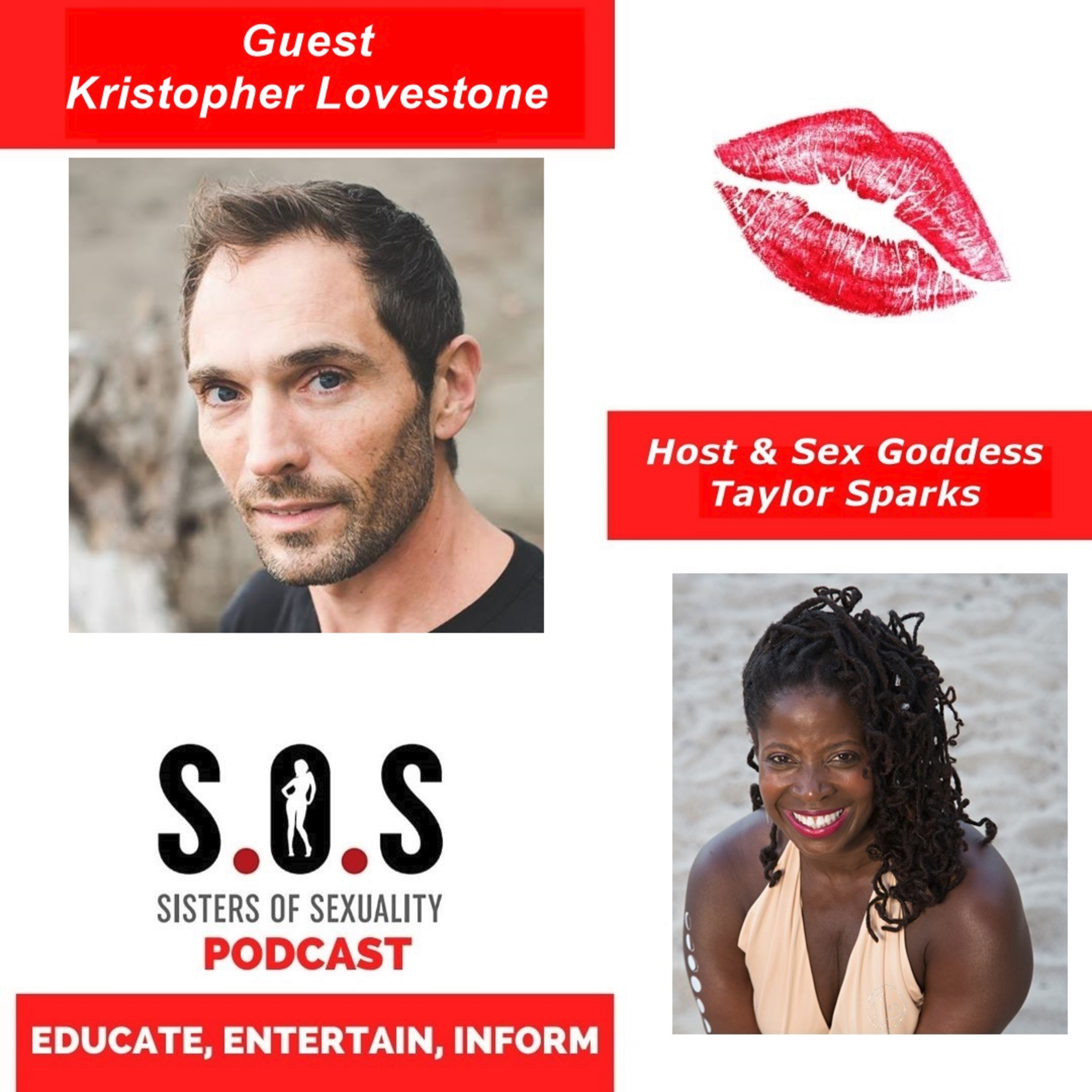Sisters of Sexuality: Five Shades Of Play - Kristopher Lovestone's Book Offers Men An Empowered Sexuality Manual