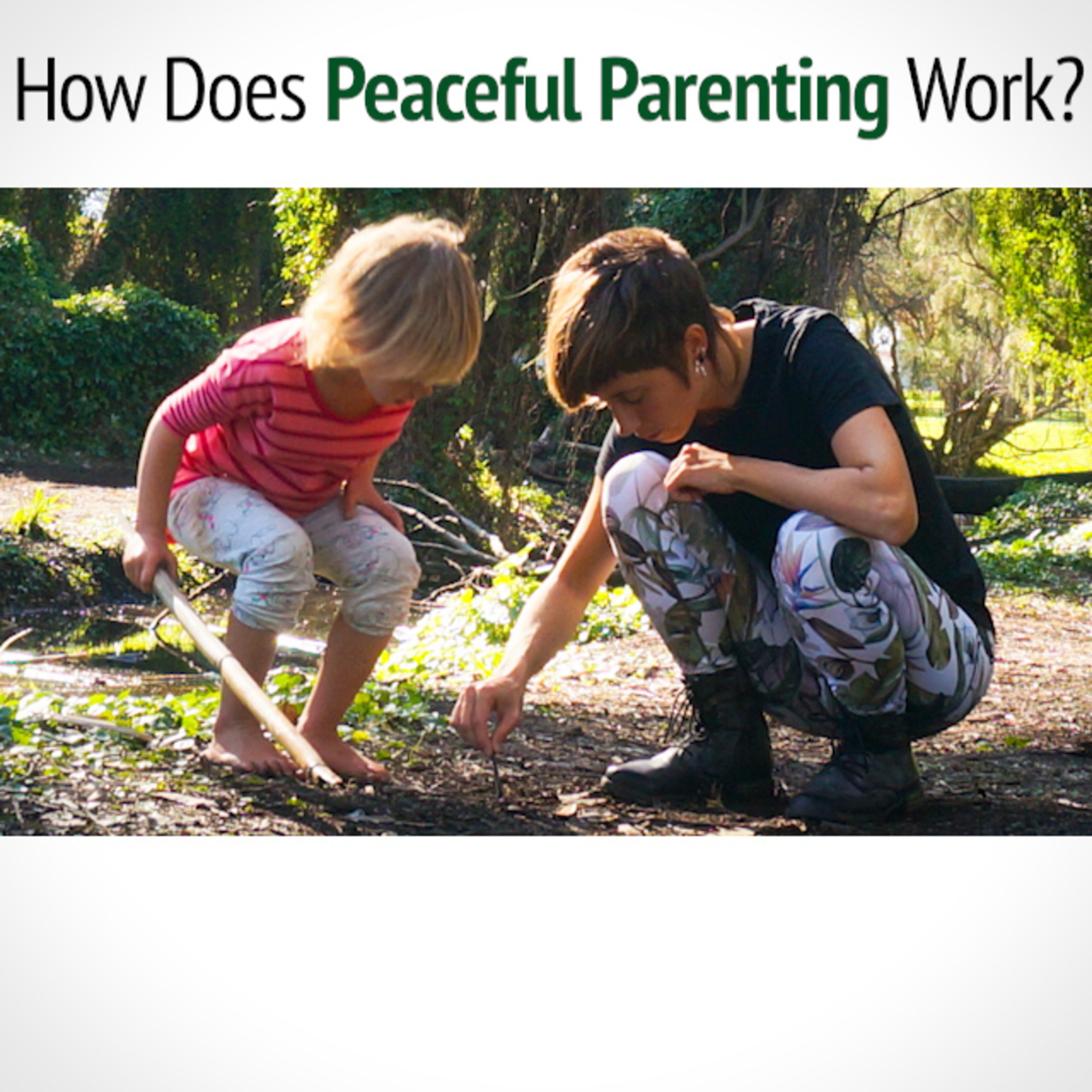 How does PEACEFUL PARENTING work?
