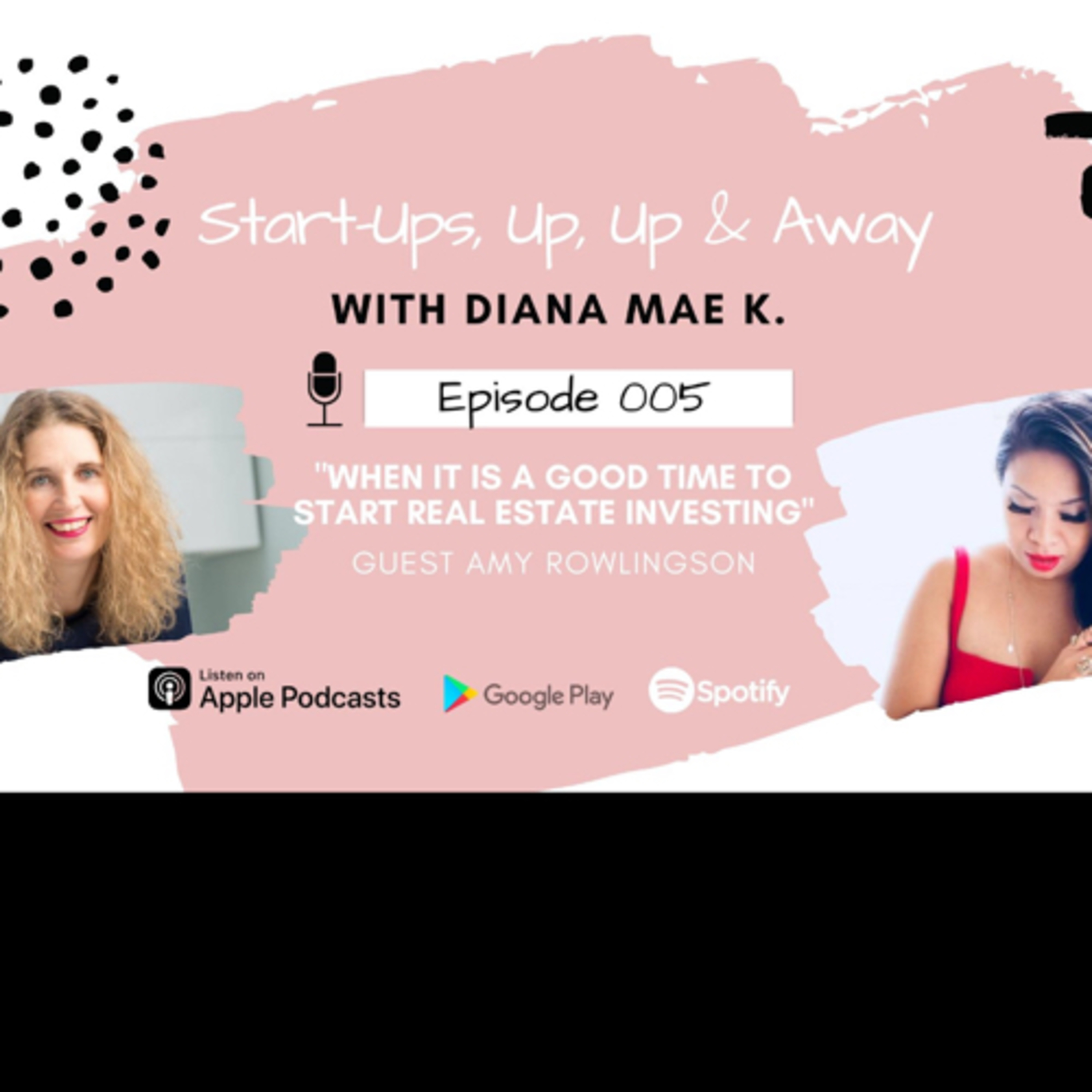 """""""When is a good time that Entrepreneurs consider investing in real estate? With Amy Rowlingson."""""""