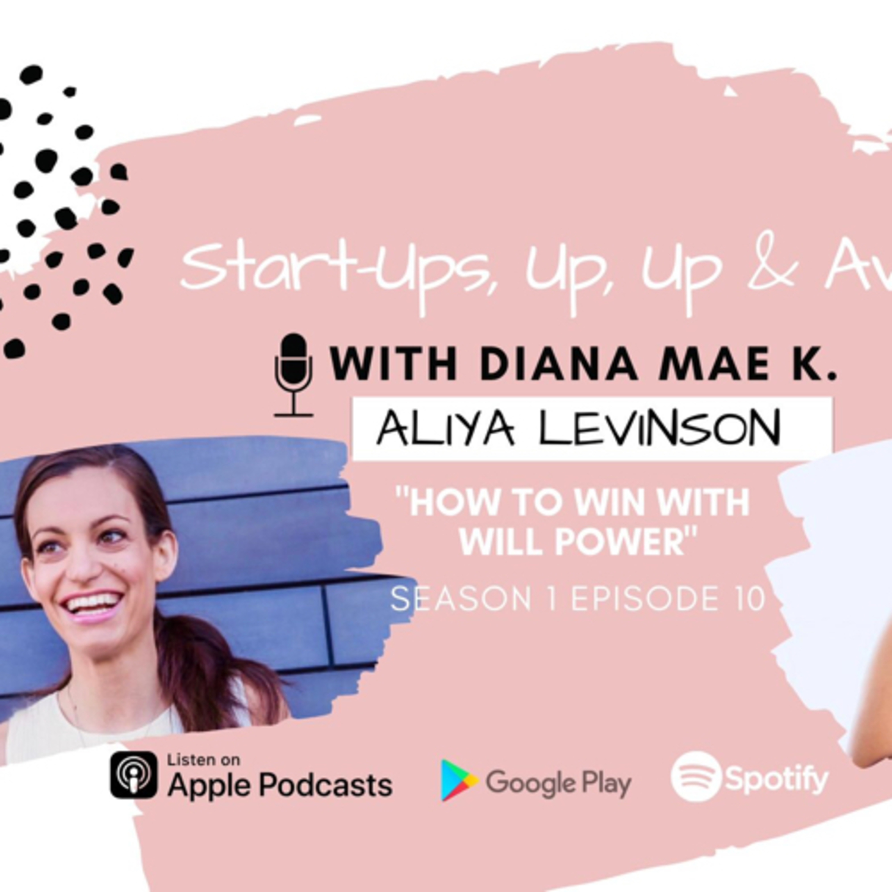 """""""How to win with will power,"""" With Special Guest Aliya Levinson"""