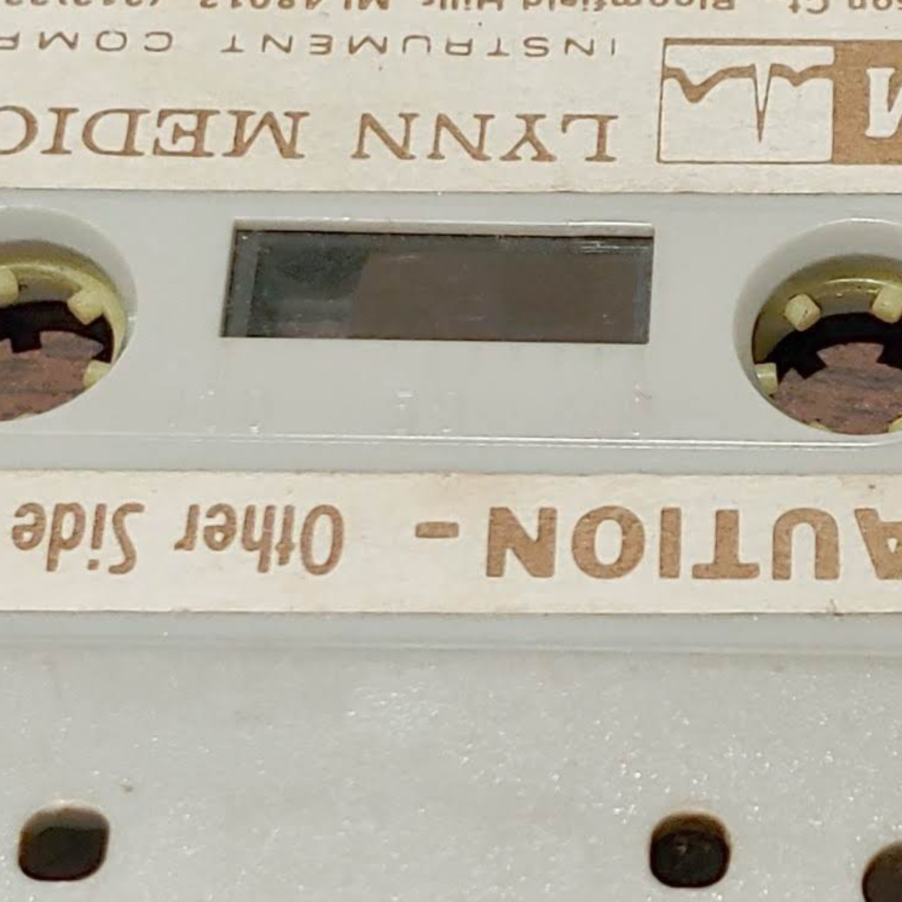 What is on the tape, the first one.