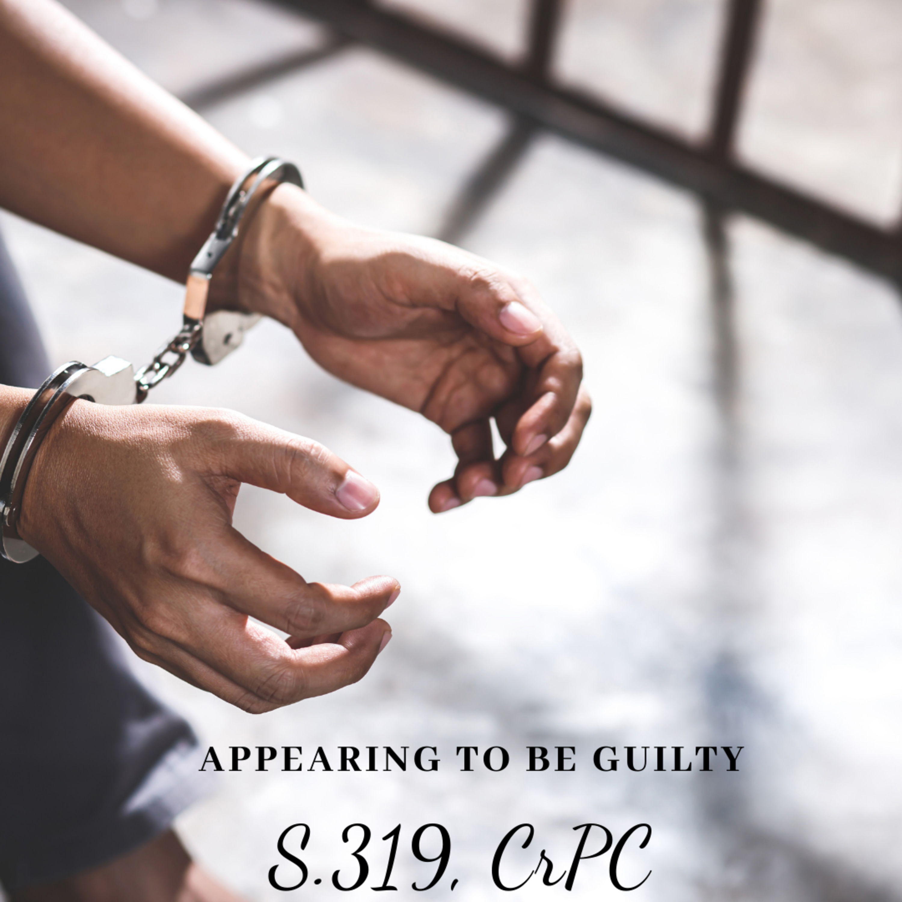 Appearing to be Guilty