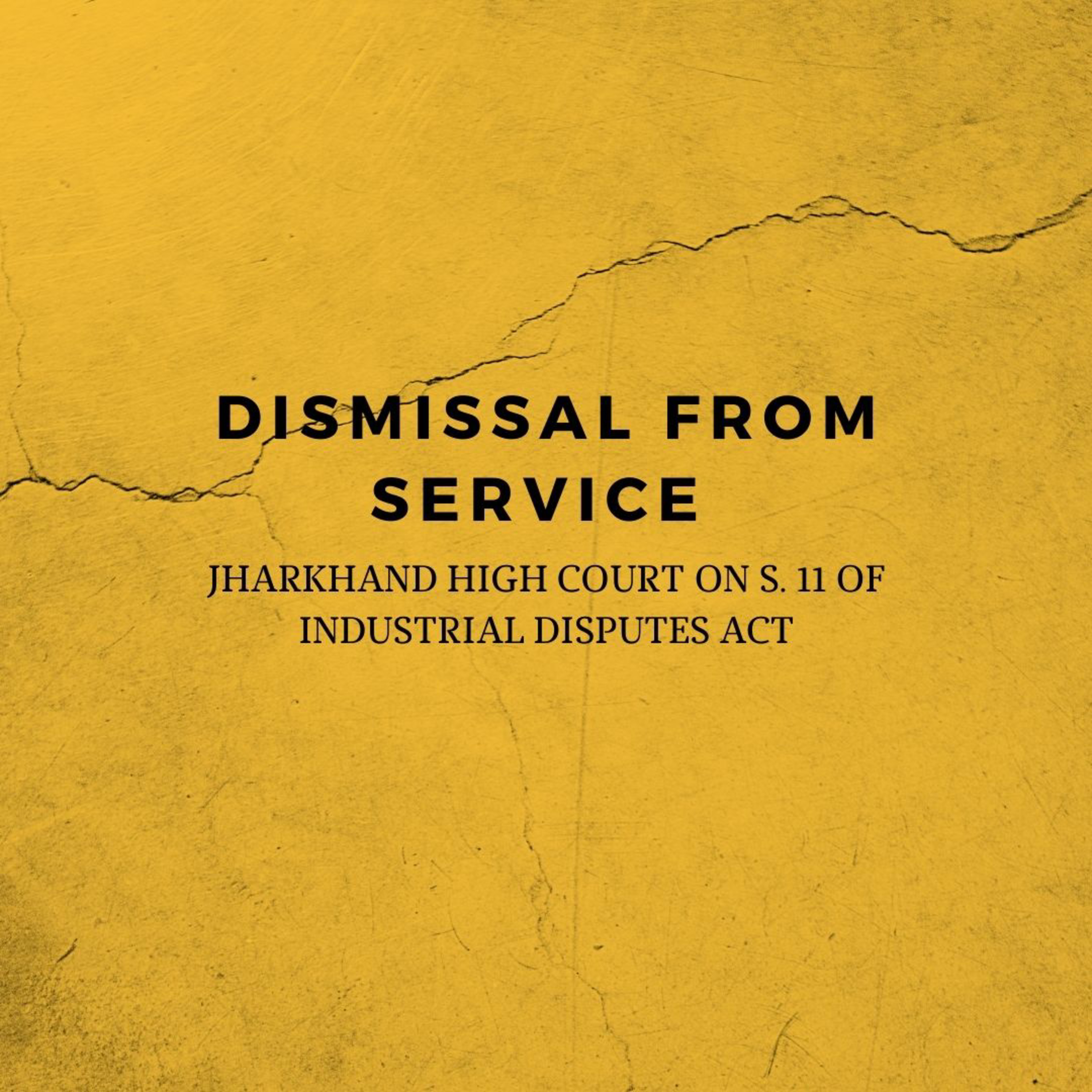 Dismissal from Service
