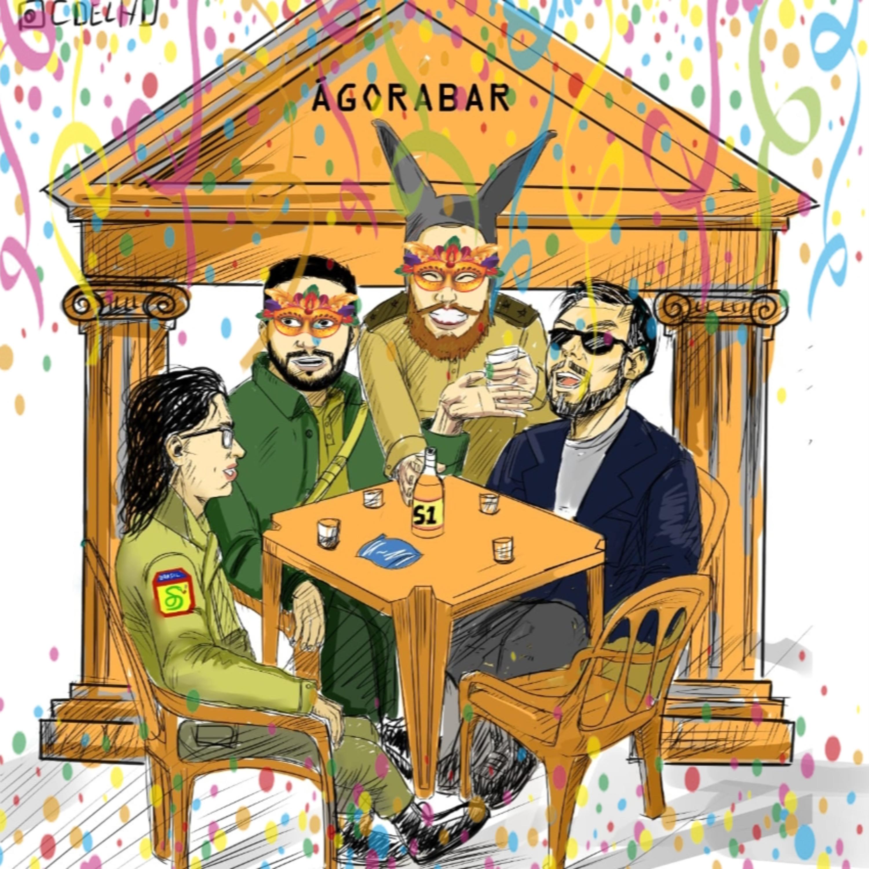 79 # História No Cast - 09 # Ágora Bar - Brincos, Oriente e Reeleição do Bolsonaro (?)