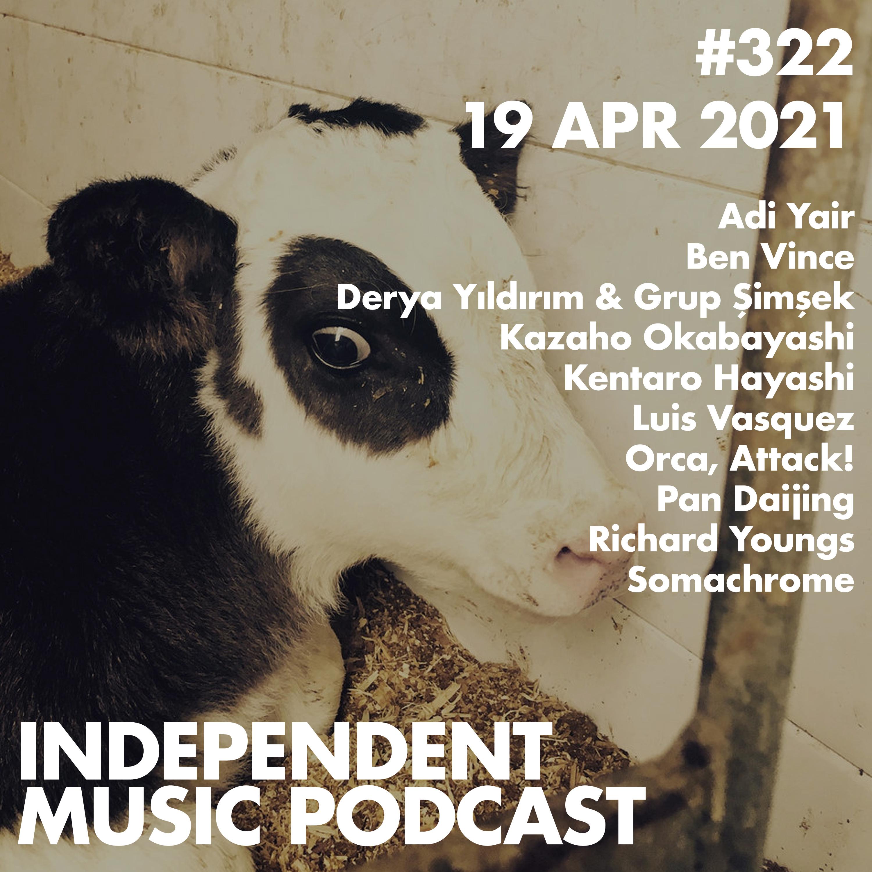 #322 – Pan Daijing, Ben Vince, Derya Yıldırım & Grup Şimşek, Luis Vasquez, Richard Youngs, Kentaro Hayashi - 19 April 2021