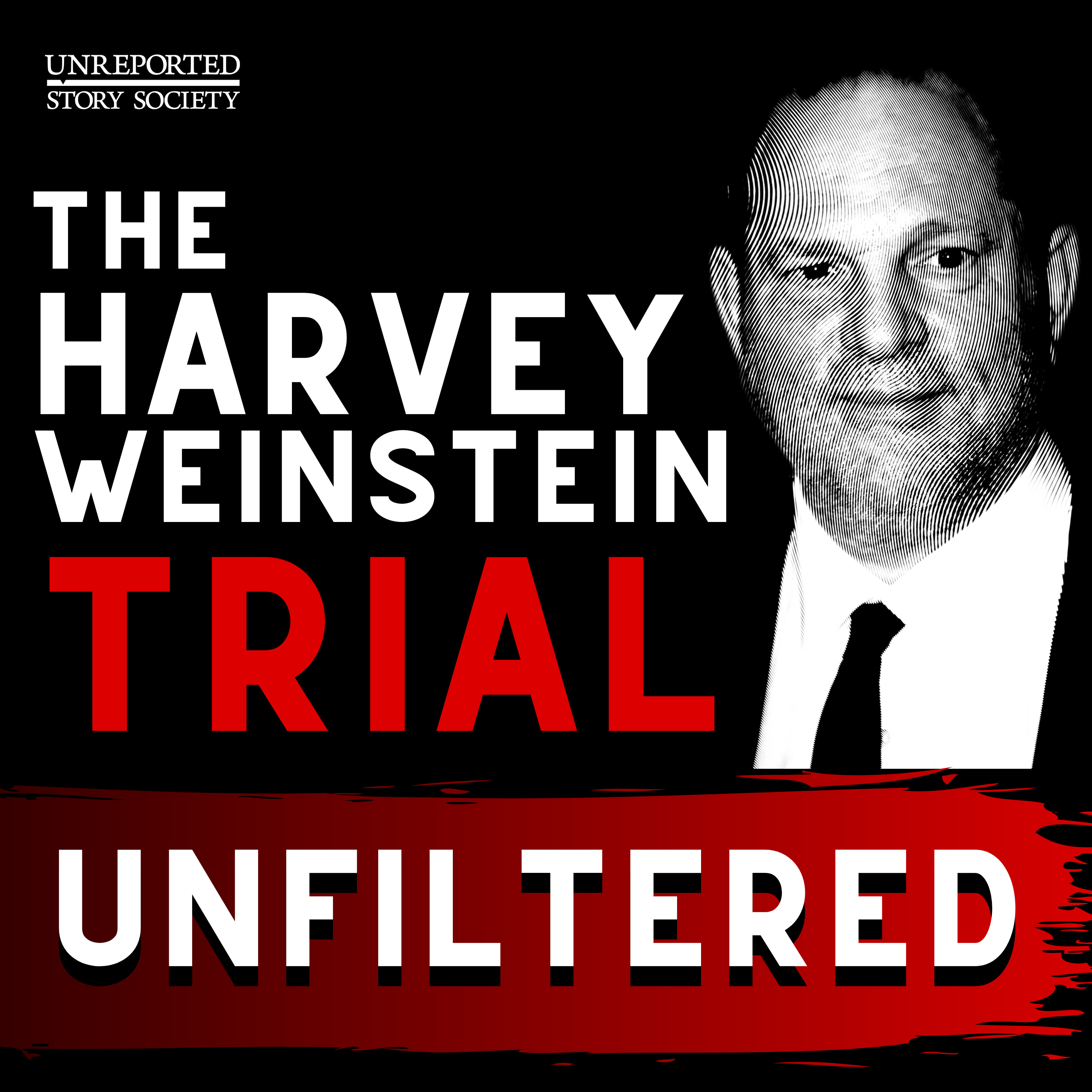 """Trailer: Introducing """"The Harvey Weinstein Trial: Unfiltered""""   A New Daily Podcast"""