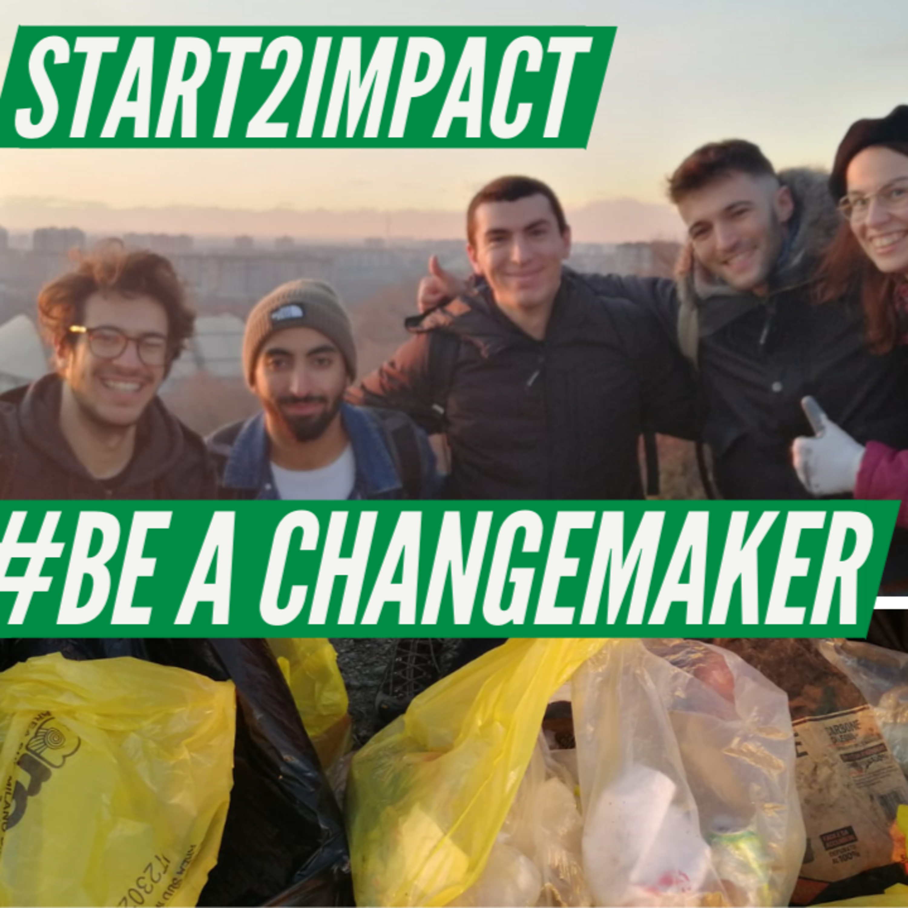 #BeAChangemaker | Pulizie al parco con Start2Impact