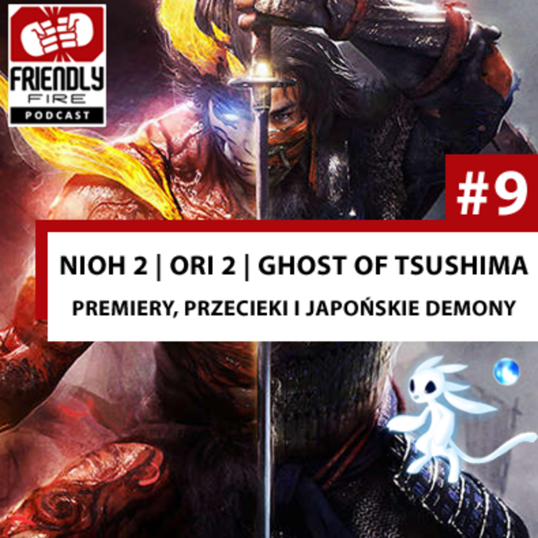 #9 | NioH 2, Ghost of Tsushima, Ori 2, CoD: Warzone - premiery, przecieki i dziwne japońskie demony