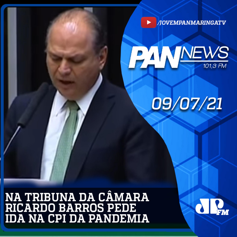 Na tribuna da Câmara Ricardo Barros pede ida na CPI da Pandemia antes do recesso