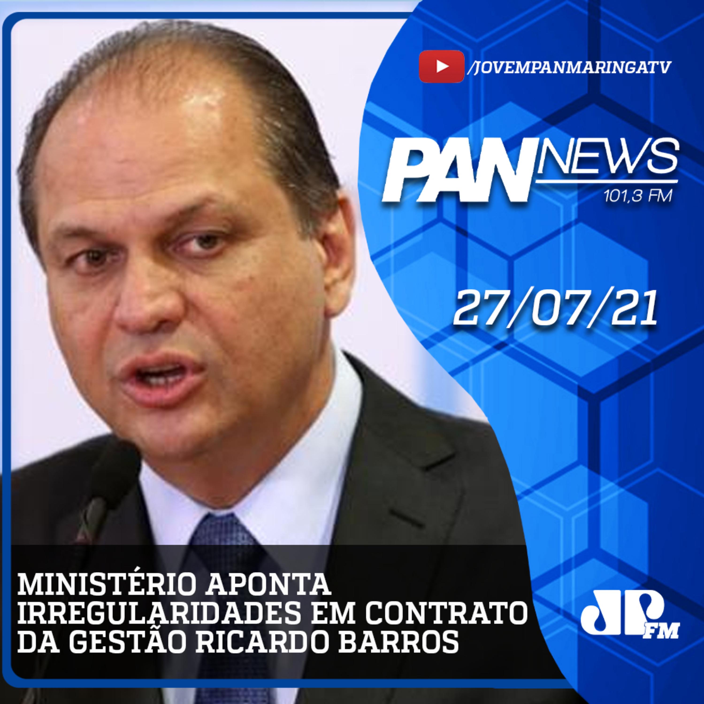 Ministério da Saúde aponta irregularidades em contrato da gestão Ricardo Barros