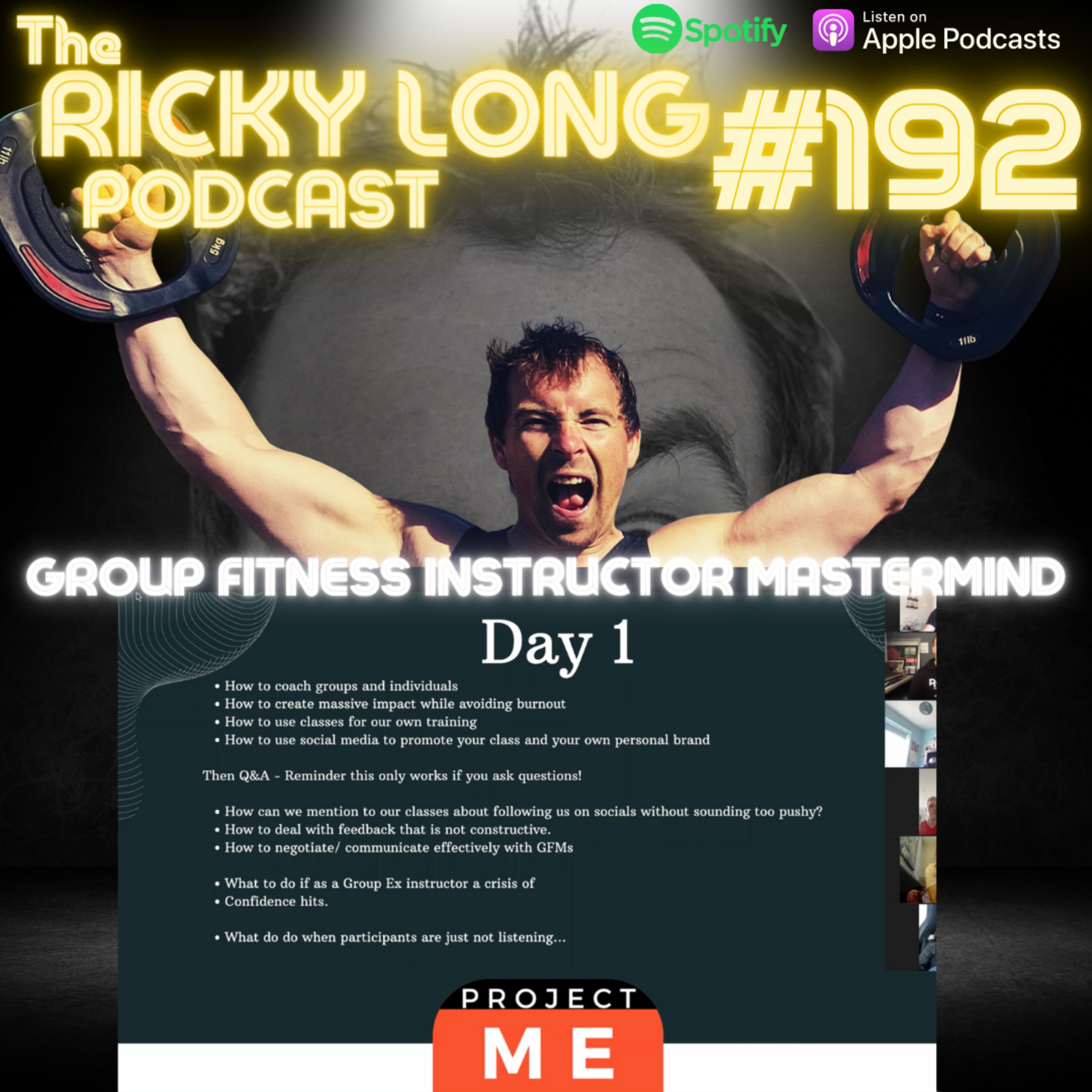 #192 - Group Fitness Mastermind
