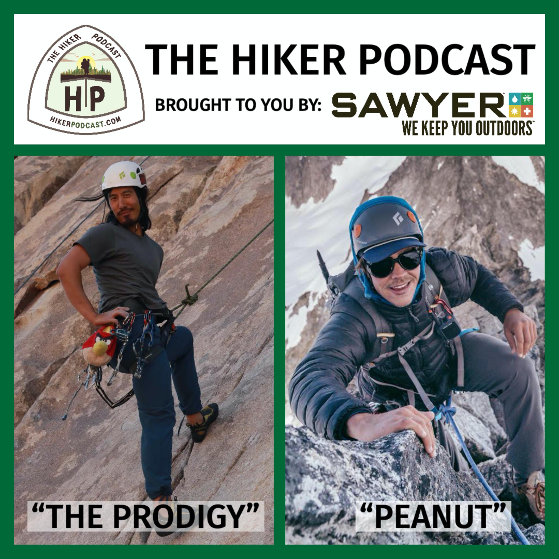 "Thru Hikers Tyler ""The Prodigy"" Lau & Andrew ""Peanut"" Glenn | The Hiker Podcast Episode 7"