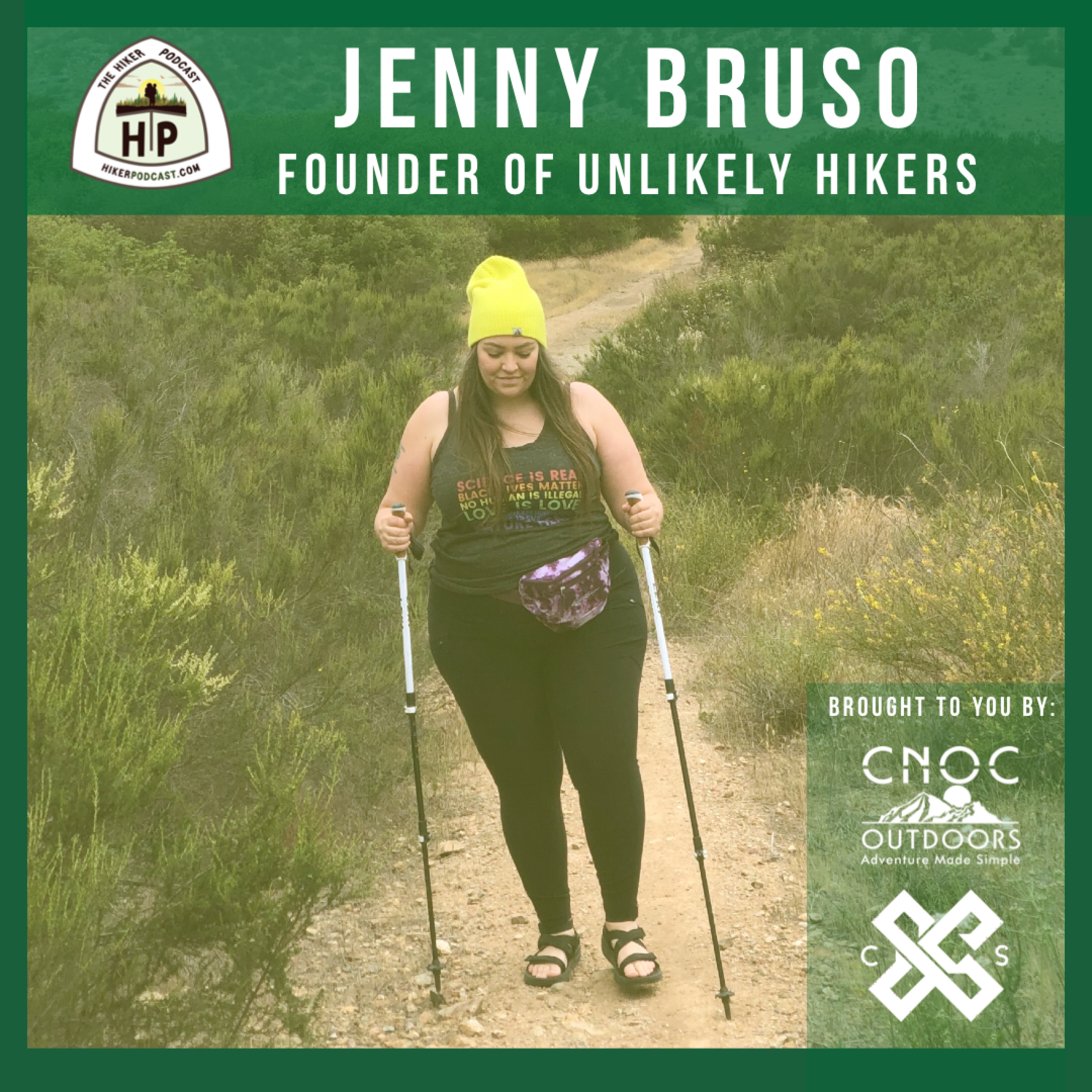 Jenny Bruso: Hiker, Advocate, & Founder of Unlikely Hikers | The Hiker Podcast S2E19