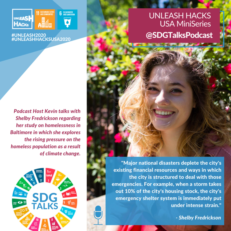 SDG #11 - Overcoming Homelessness with Shelby Fredrickson