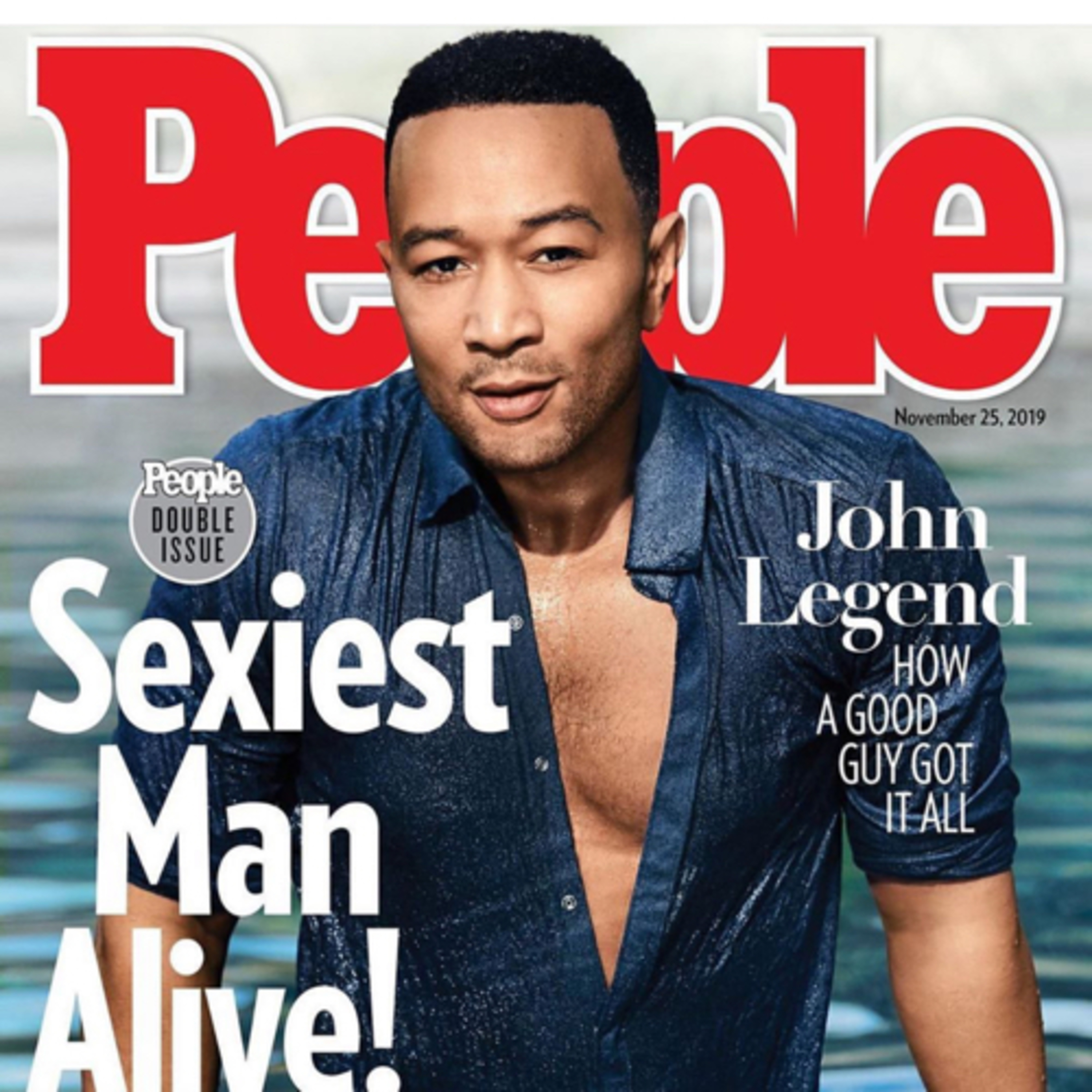 People's 2019 Sexiest Man of the Year is John Legend!