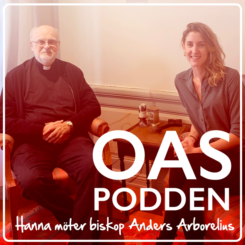 Hanna möter biskop Anders Arborelius