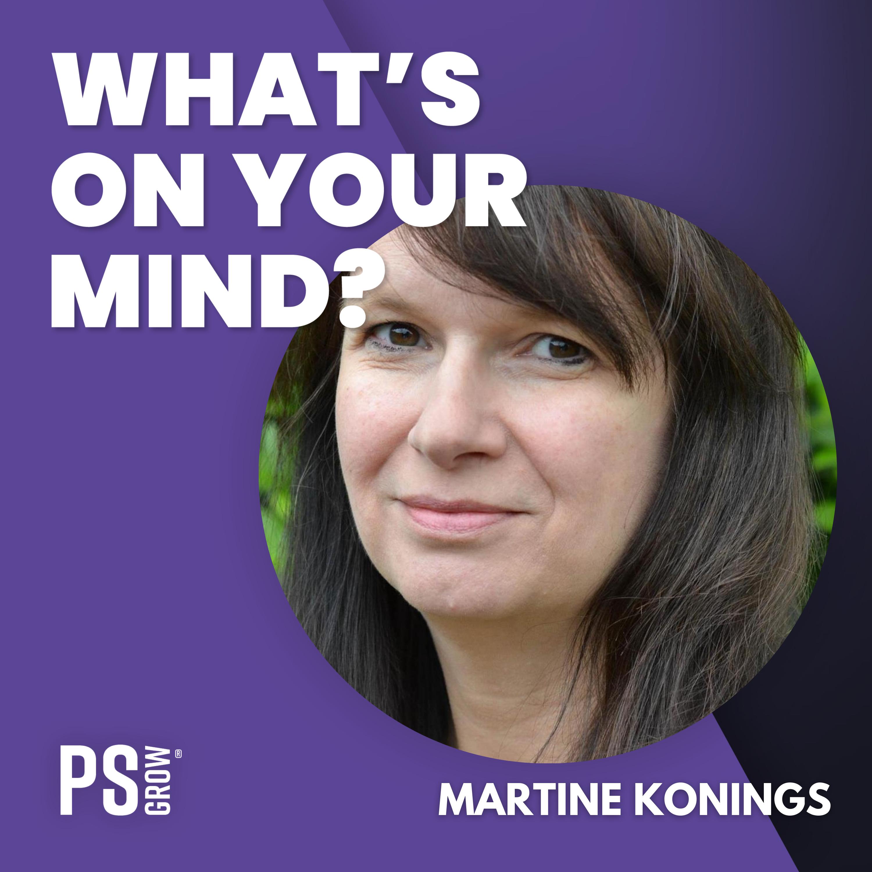 WOYM 116 Martine Konings Over Muziek, Massages En Meditatie   What's On Your Mind? (Dutch/Nederlands)