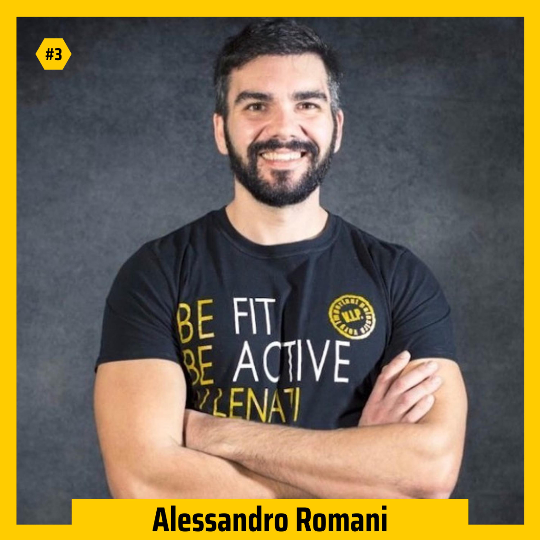 #03 - Alessandro Romani su sovrallenamento, disciplina, alimentazione e costante evoluzione