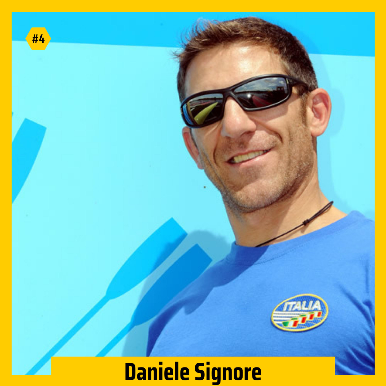 #04 - Daniele Signore su affrontare le avversità, superare i propri limiti e vincere la medaglia d'oro (parte 1)