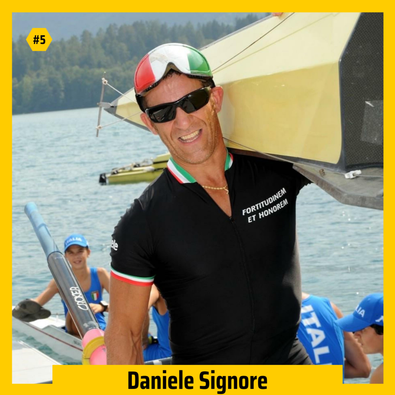 #05 - Daniele Signore su affrontare le avversità, superare i propri limiti e vincere la medaglia d'oro (parte 2)