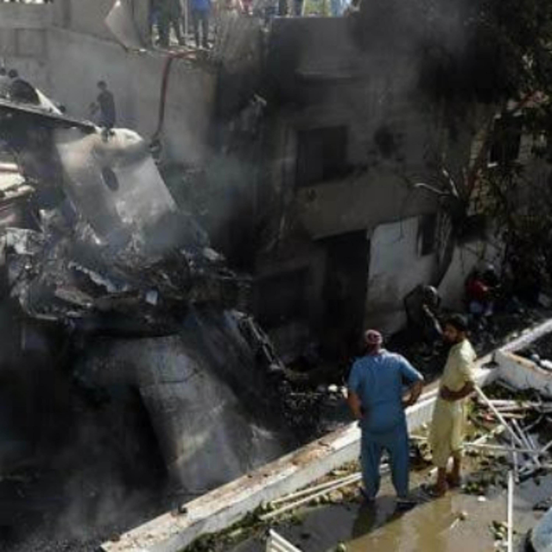 Plane crashed in Pakistan