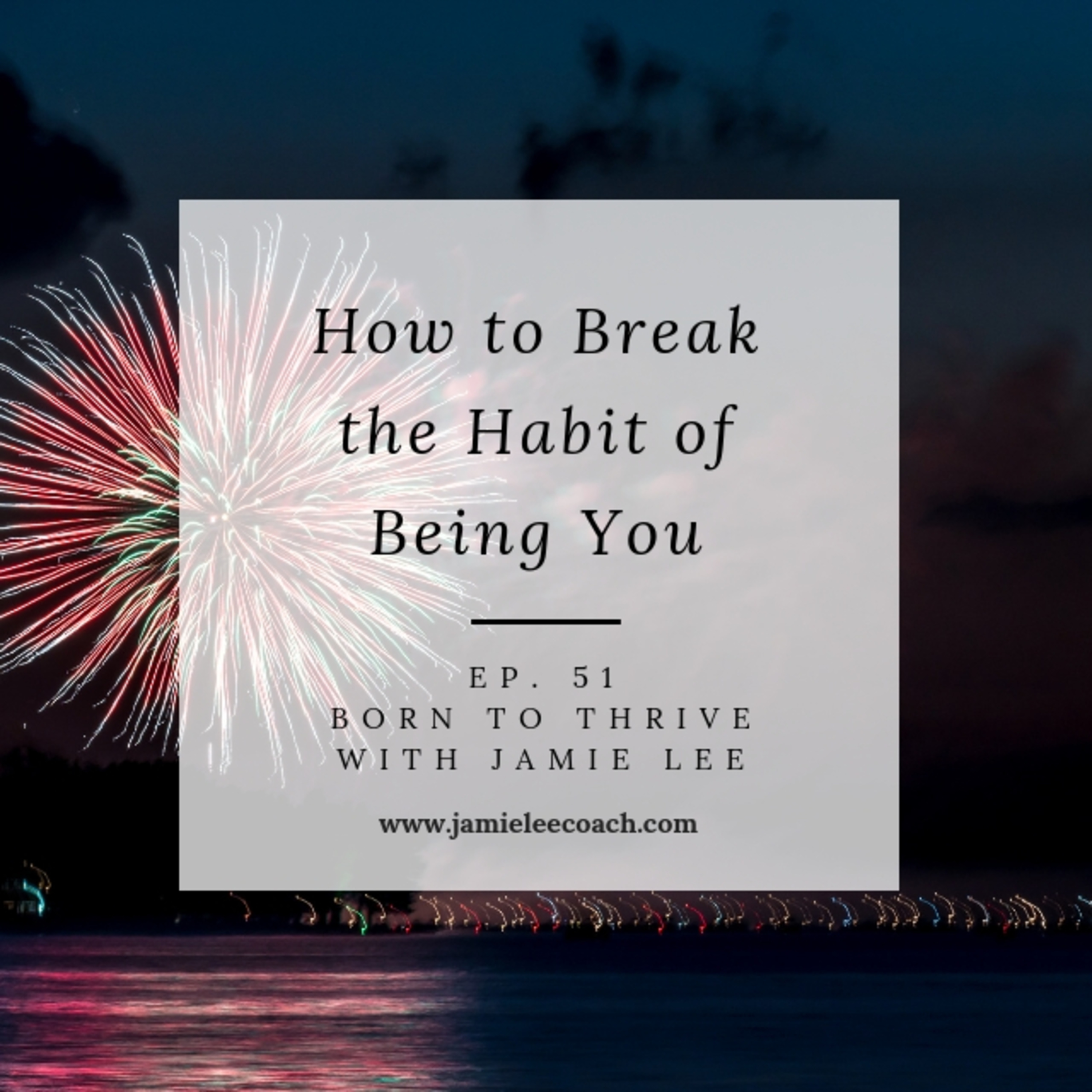 Ep. 51 How to Break The Habit of Being You