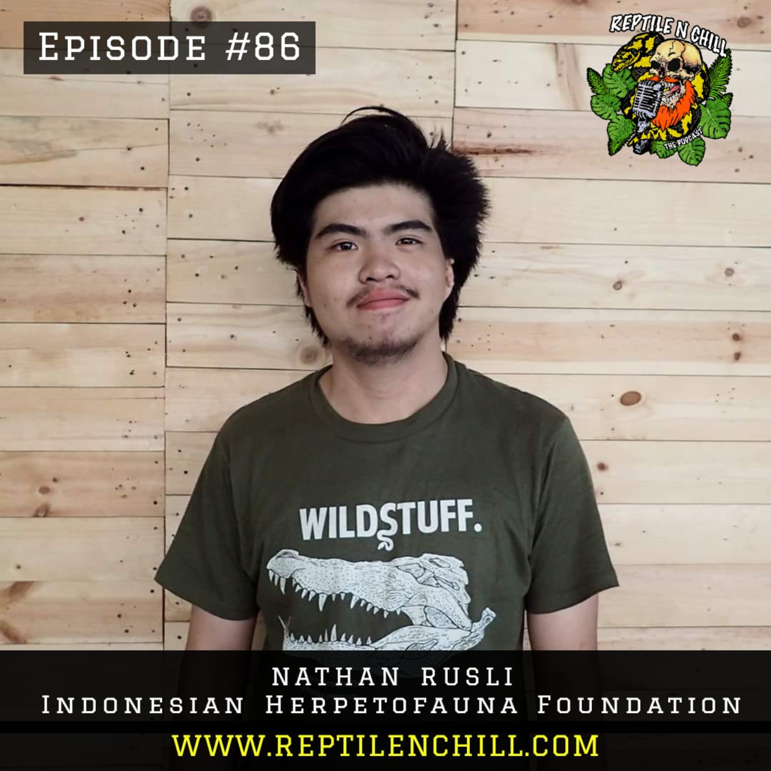 Nathan Rusli from Indonesian Herpetofauna Foundation - 86 Reptile n Chill