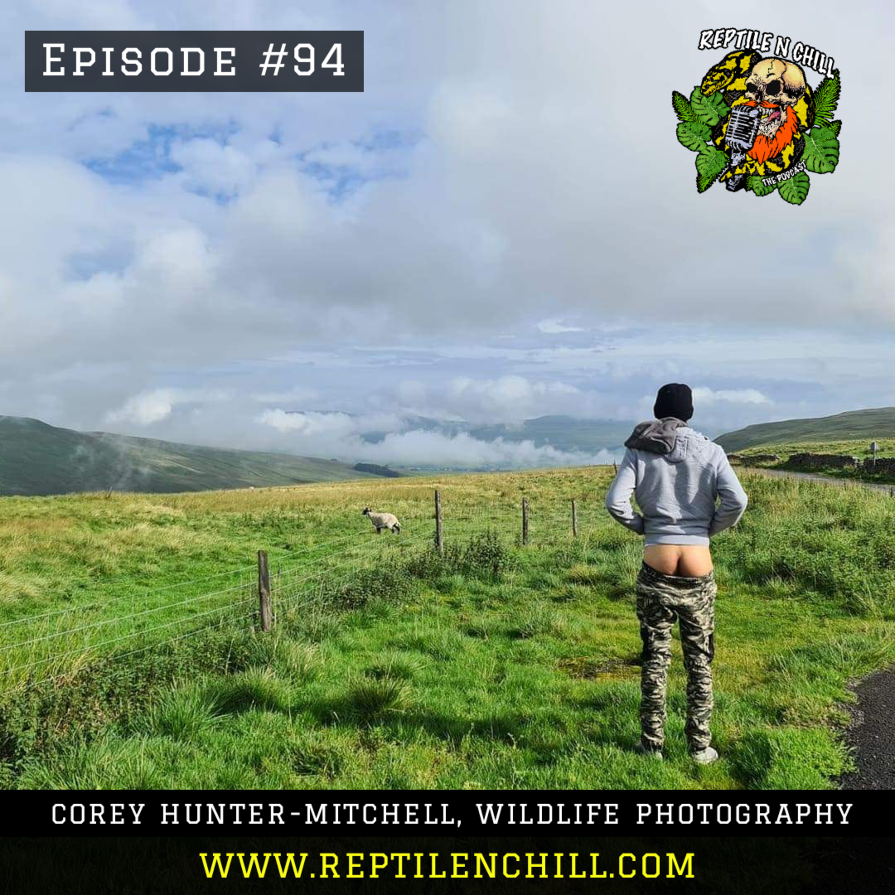 Cory Hunter-Mitchell, Wild Life Photographer- 94 Reptile n Chill