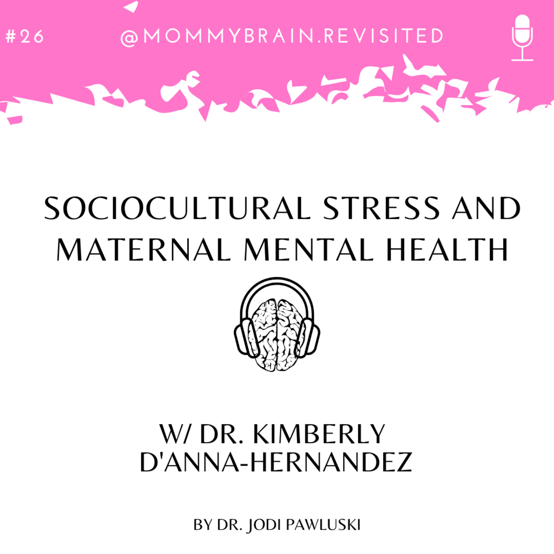 26. Sociocultural Stress and Maternal Mental Health