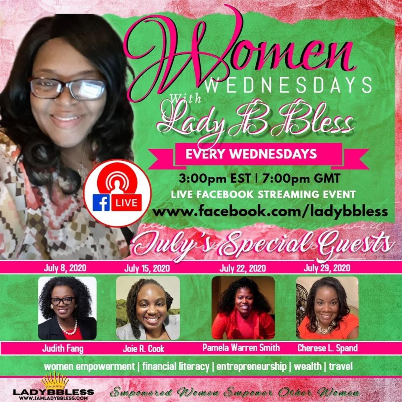#5 July 8, 2020 - (Judith Fang) Women Wednesdays