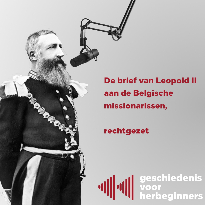 5.6 - De brief van Leopold II aan Belgische missionarissen, rechtgezet!