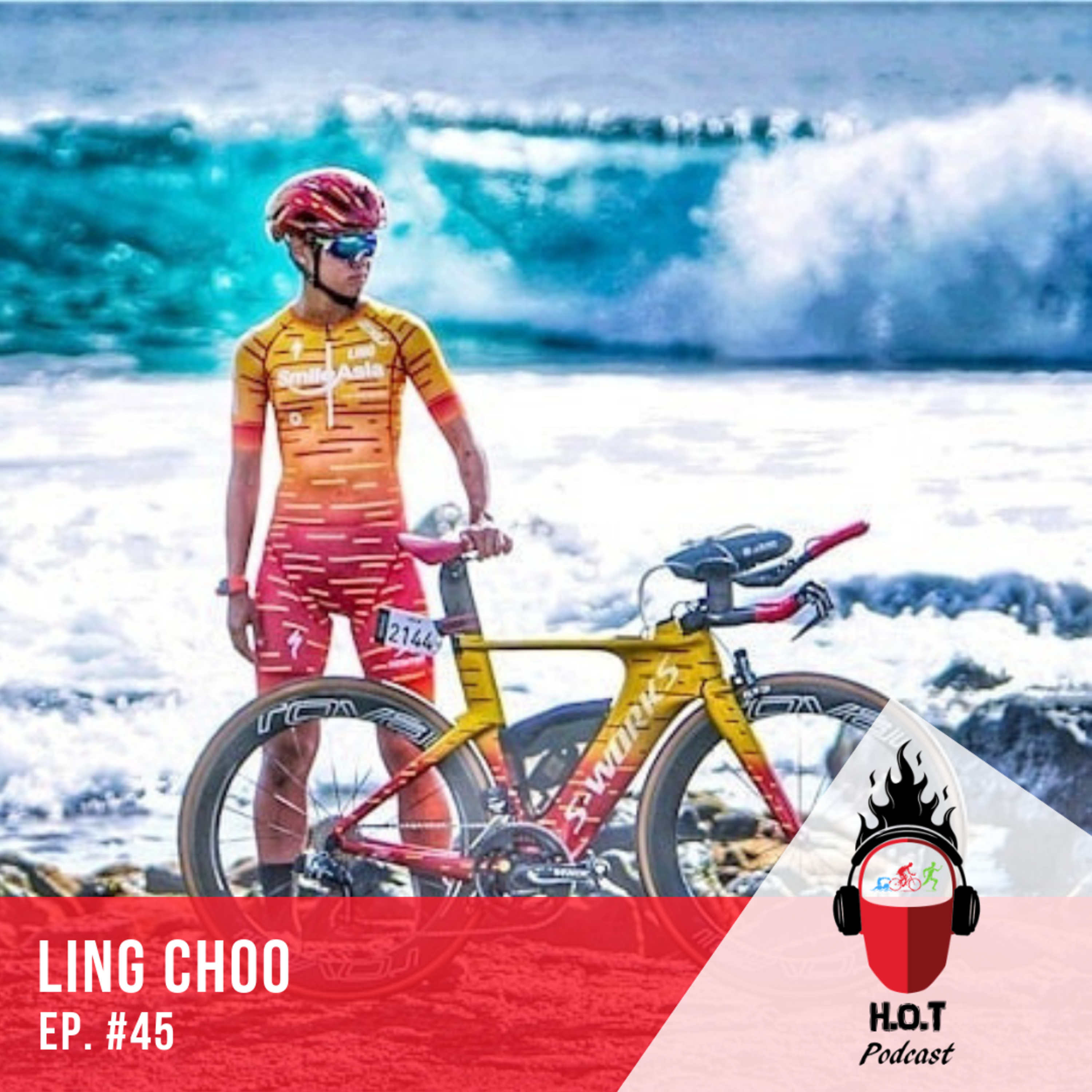 Ep. #45: Ling Choo | Full-time Triathlete from Singapore and National IM Record Holder