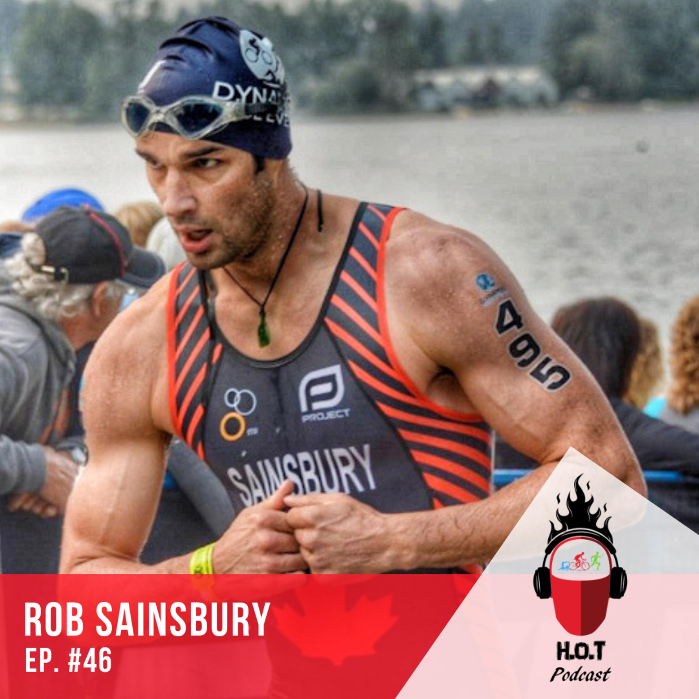 Ep. #46: Robert Sainsbury | Biologist working through a Traumatic Brain Injury (TBI) with the help of Triathlon