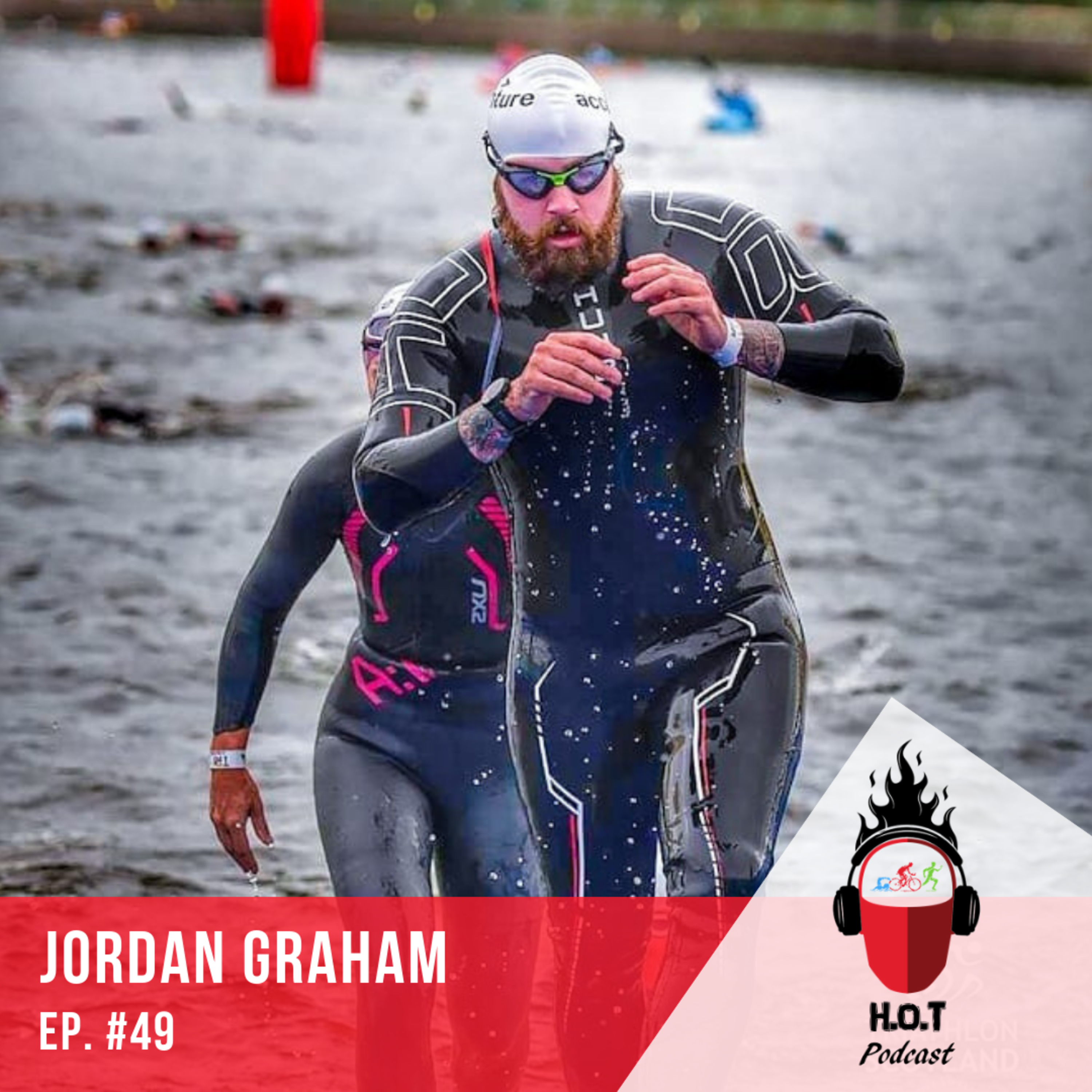 Ep. #49: Jordan Graham | Cancer Survivor from Scotland doing Triathlon to be more than just 'The Guy That Had Cancer'