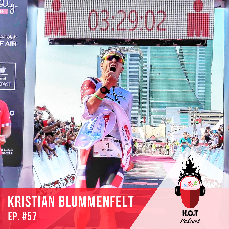 Ep. #57: Kristian Blummenfelt | Pro Triathlete from Norway, 2019 WTS Grand Final Winner, & 70.3 World Record Holder