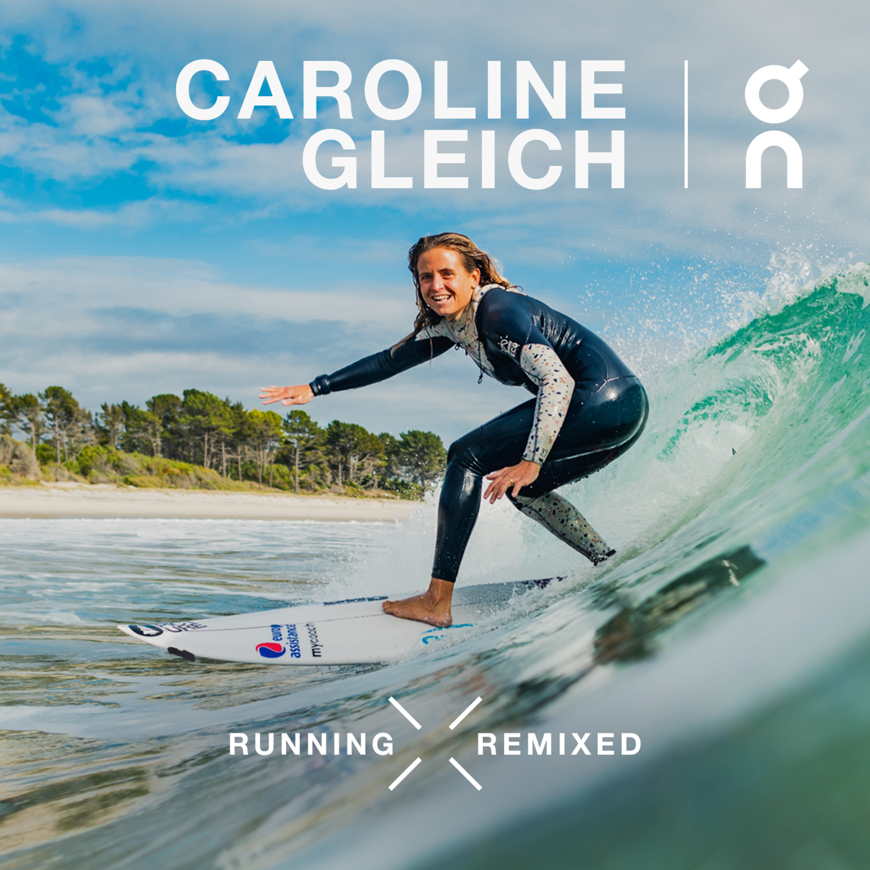 Surfing X Running: Catch Your Wave with Gold-Medalist Pauline Ado