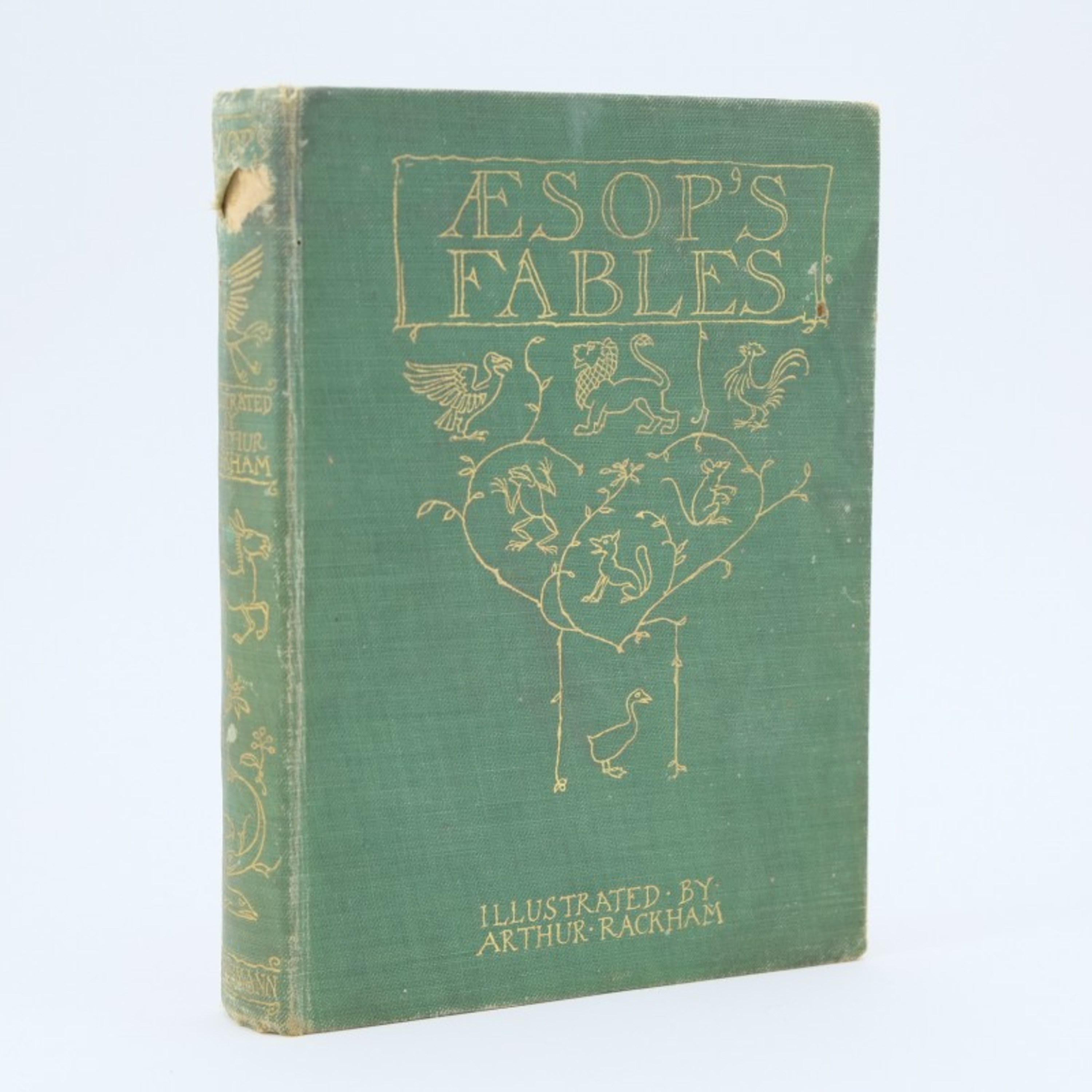 Aesop's Fables: Grief and His Due