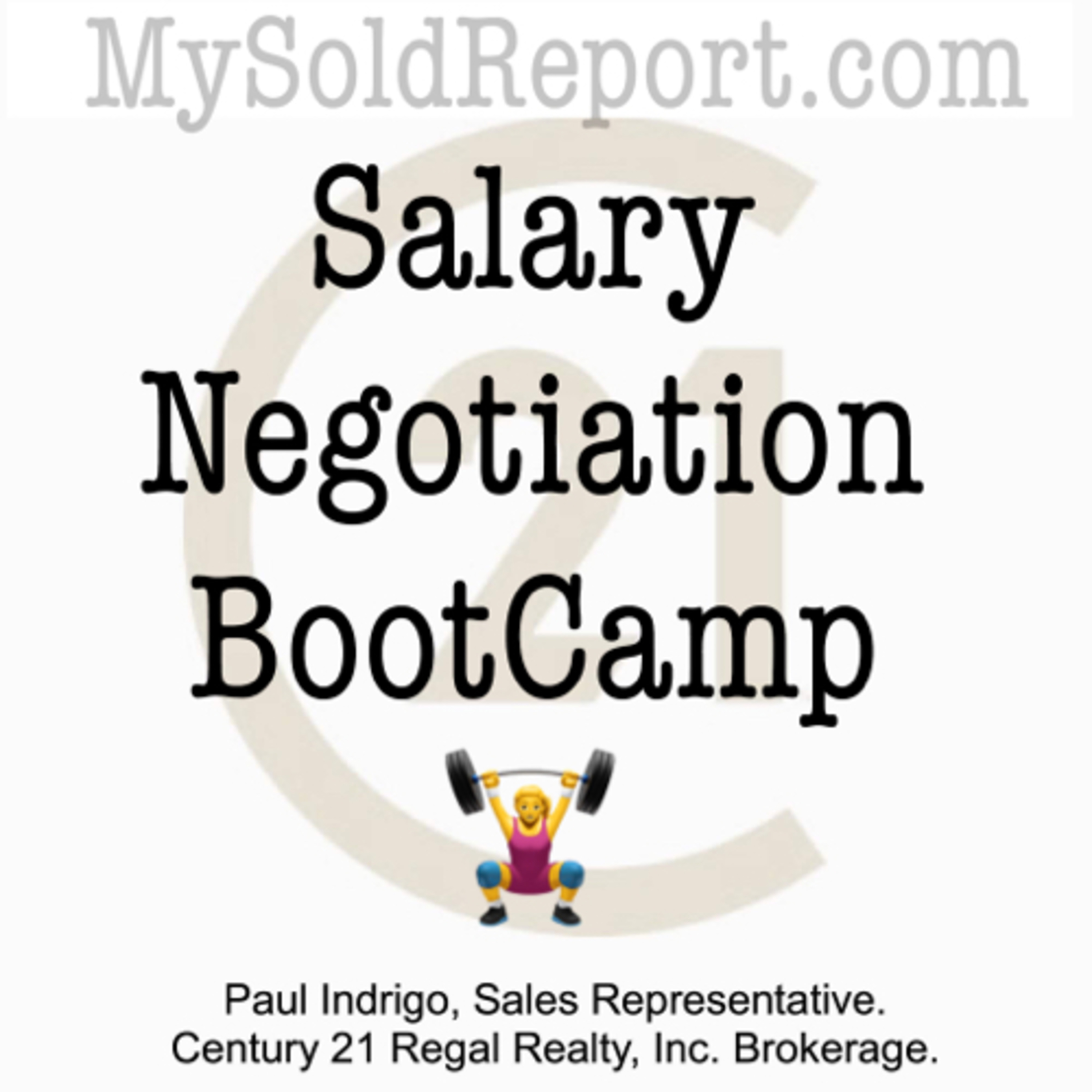 Episode 117: Salary Negotiation BootCamp starts now
