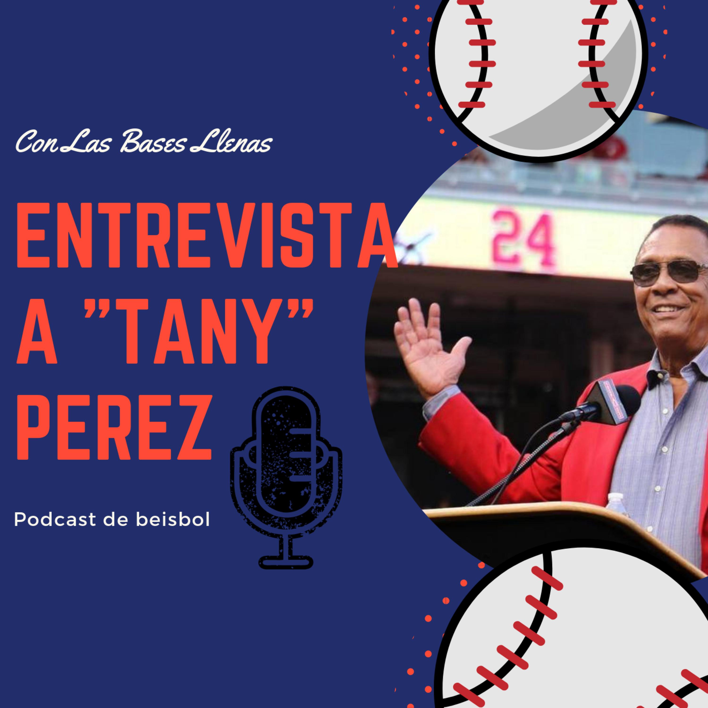 """Entrevista con el Salon de la Fama y gloria del beisbol cubano: Atanasio """"Tany Perez"""""""