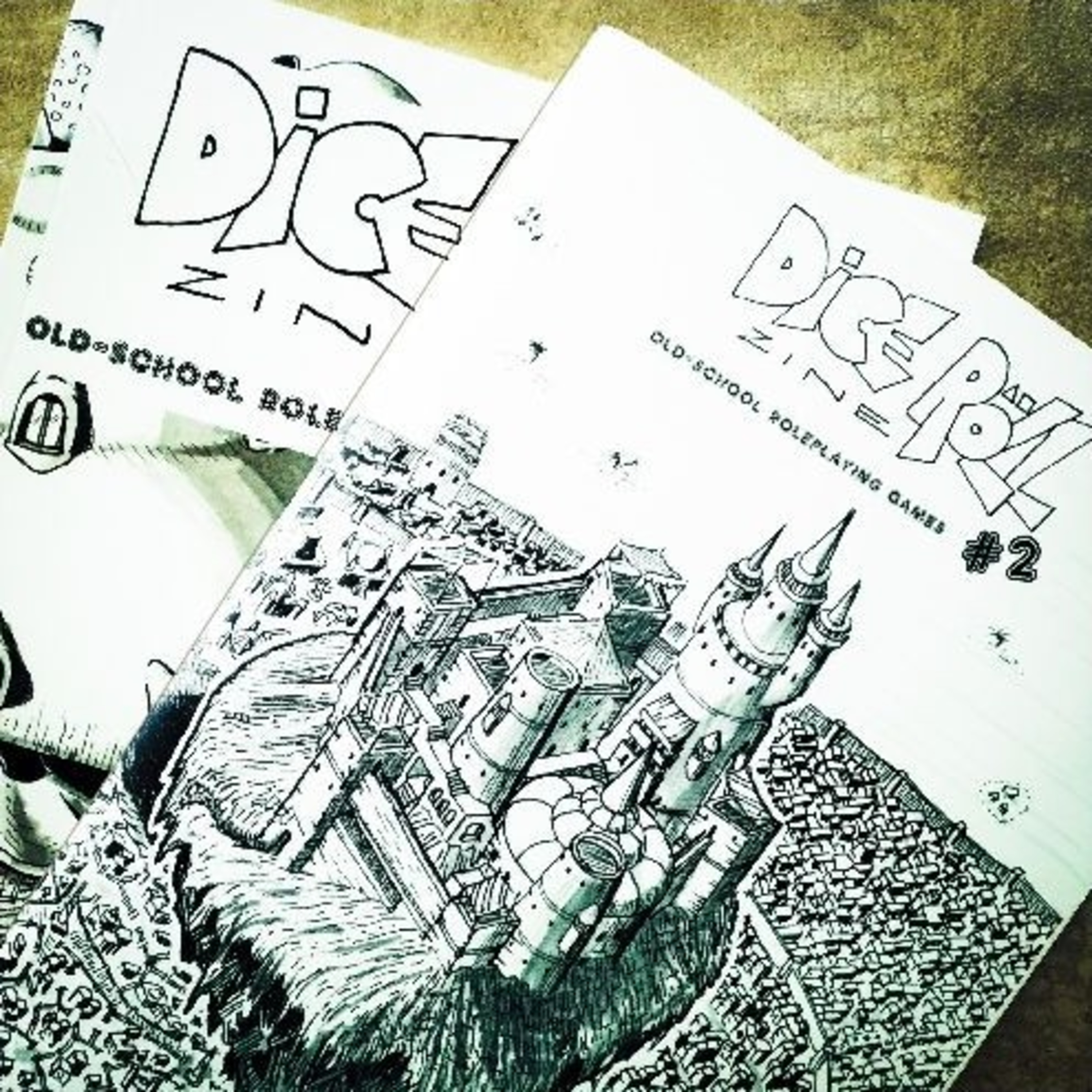 Dice Roll Zine 1&2 Overview