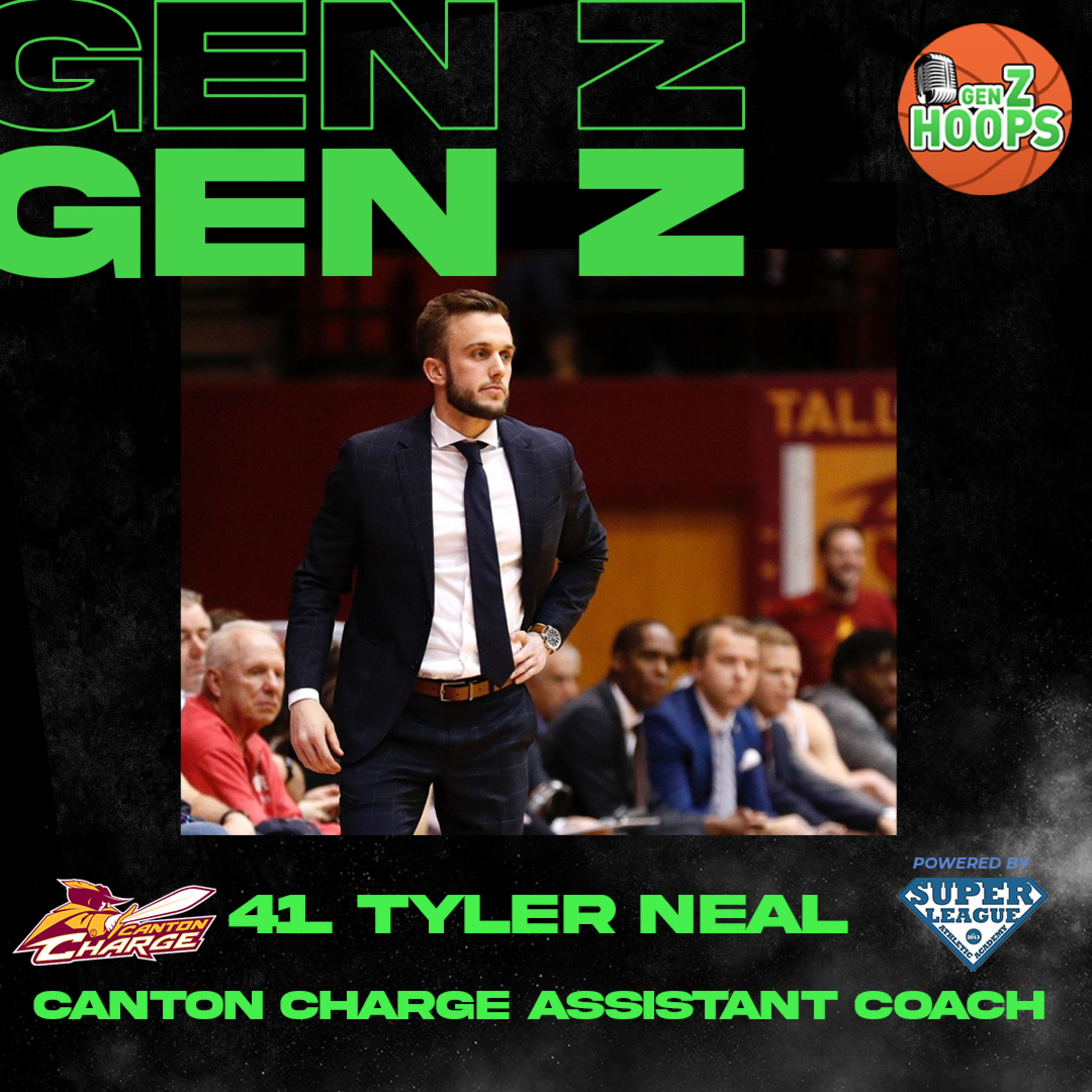 41. Tyler Neal - Canton Charge Assistant Coach